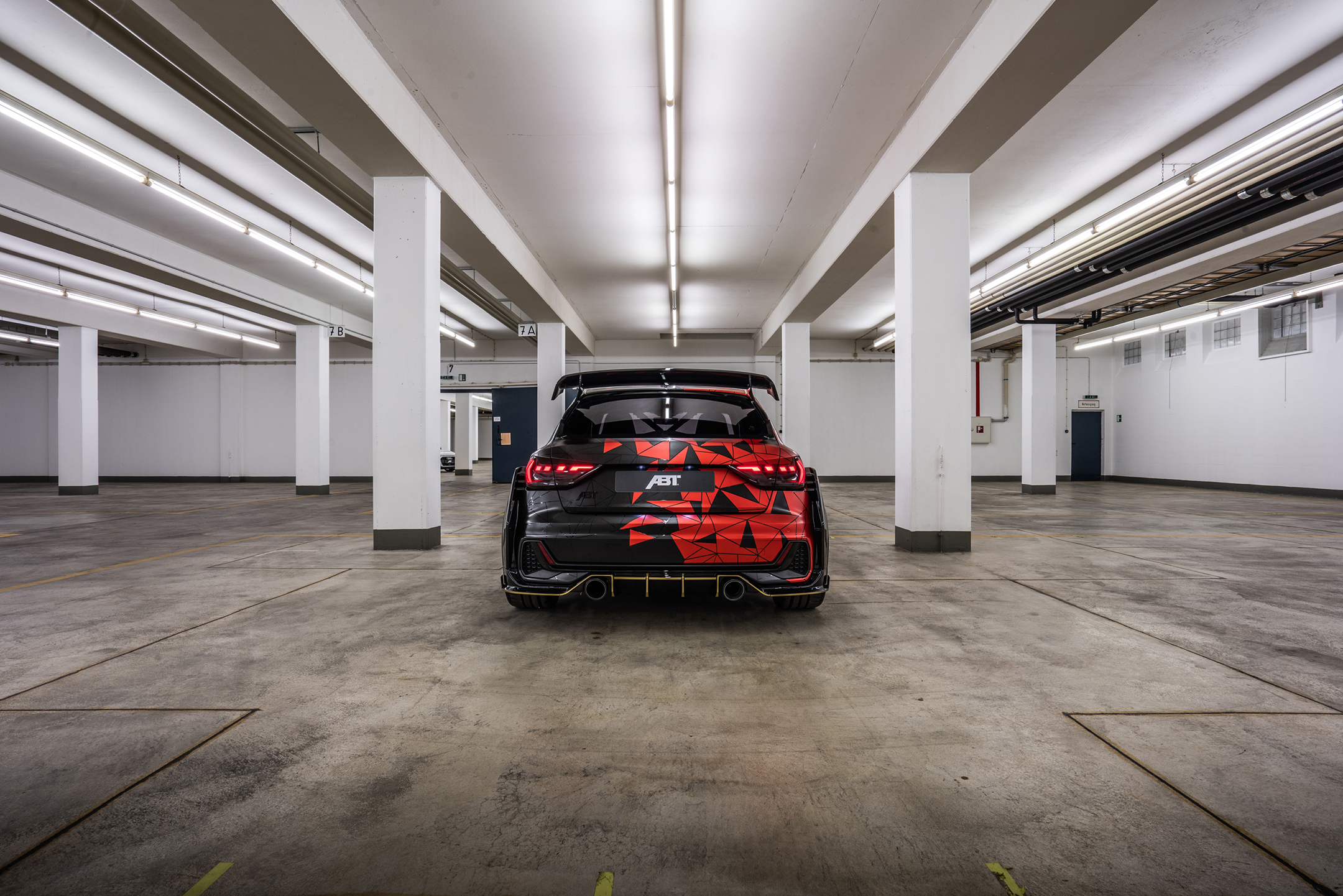 ABT Audi A1 1of1 - 2019 - rear face / face arrière