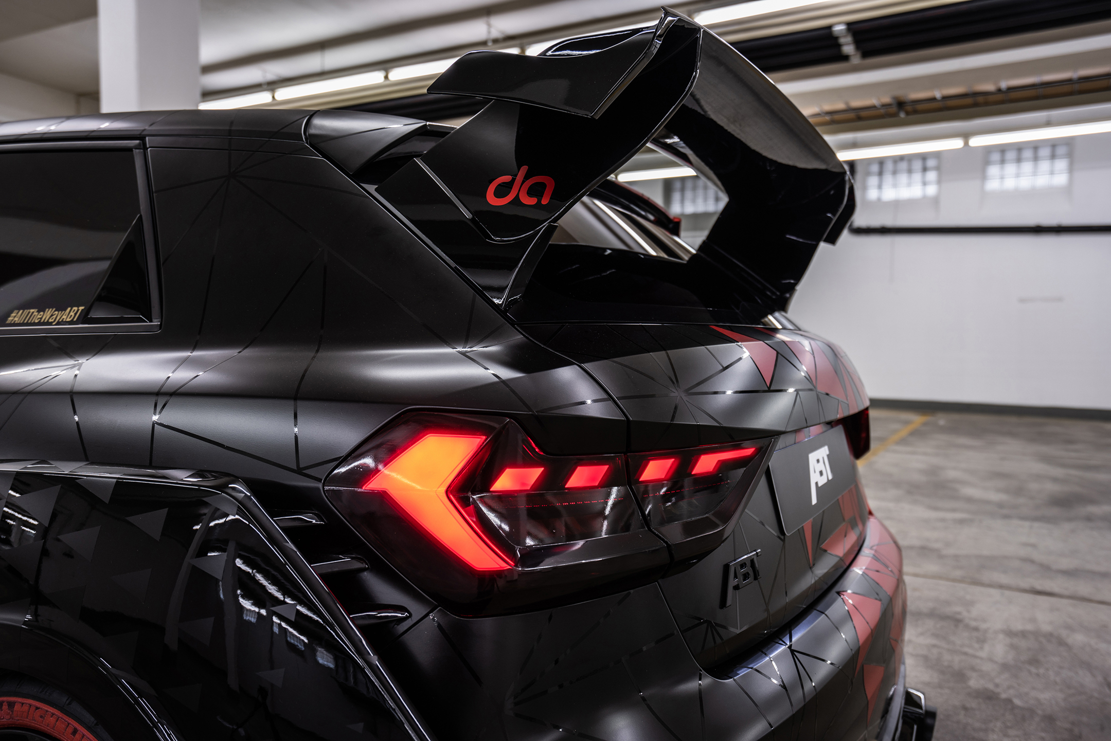 ABT Audi A1 1of1 - 2019 - rear wing / aileron