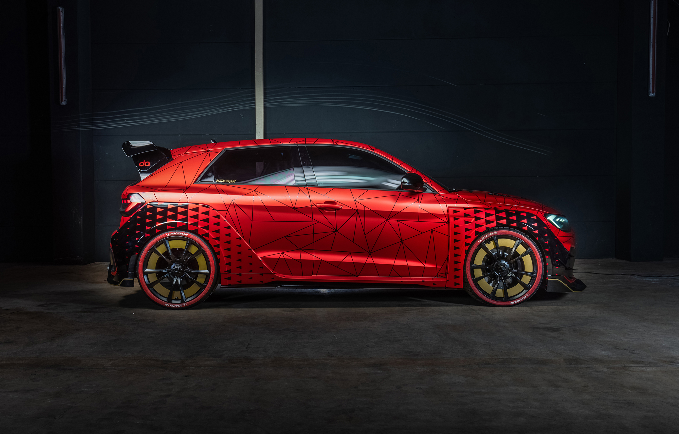 ABT Audi A1 1of1 - 2019 - side-face / profil