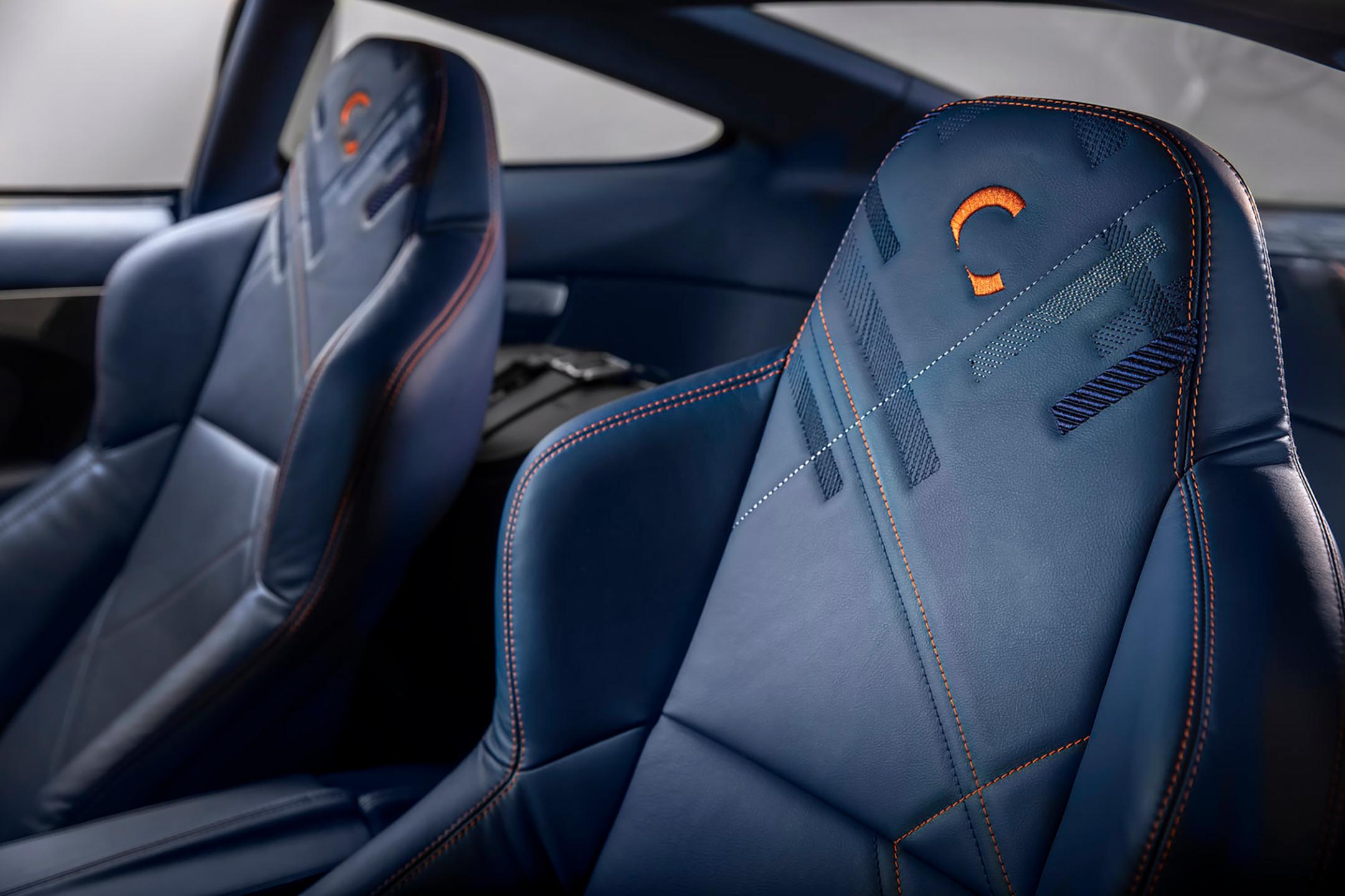 Aston Martin Vanquish 25 by CALLUM - 2019 - seats / sièges