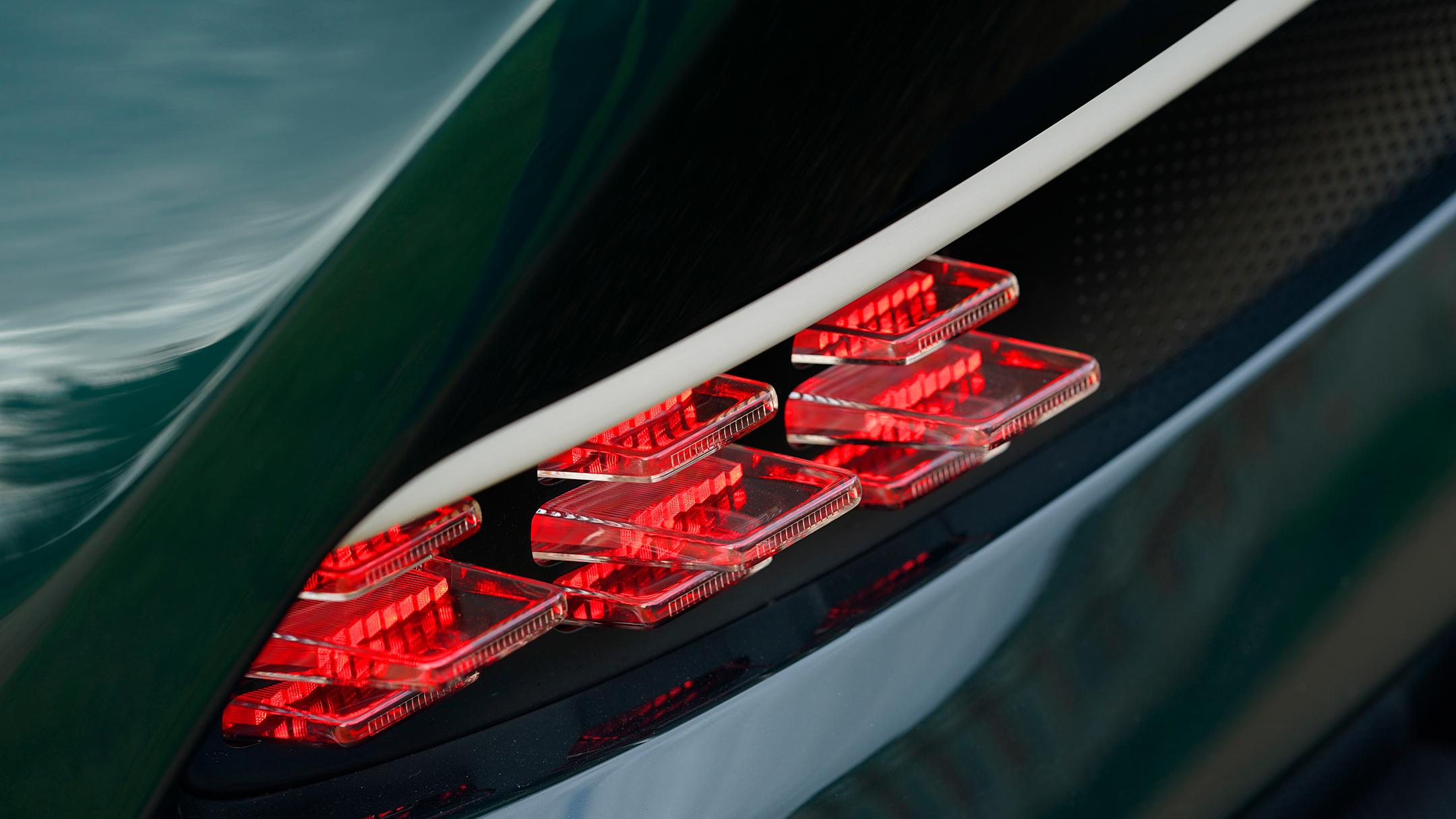 Aston Martin Victor by Q - 2020 - rear light / optique arrière