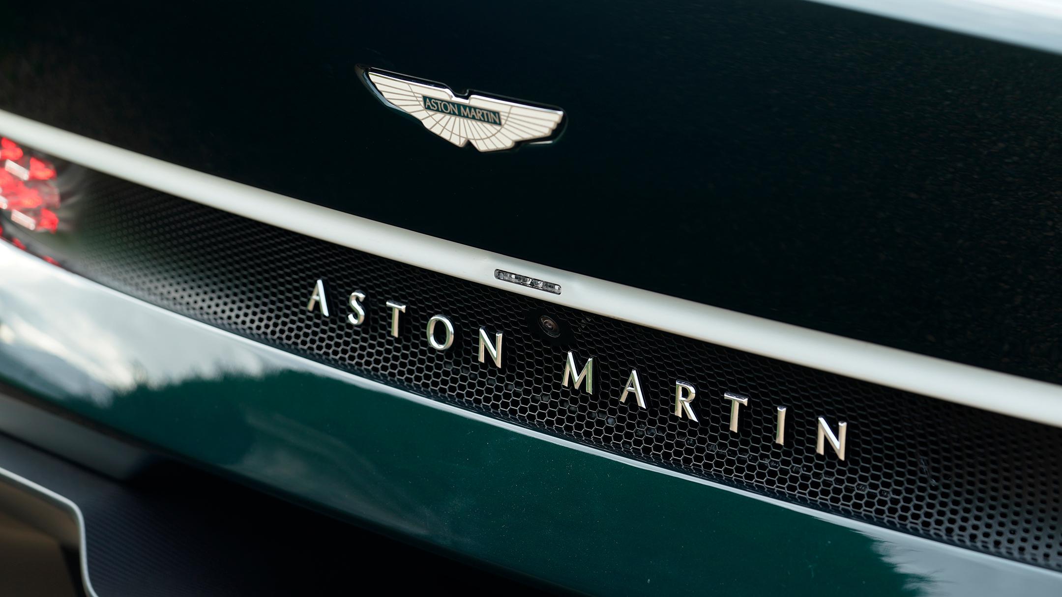 Aston Martin Victor by Q - 2020 - rear logo