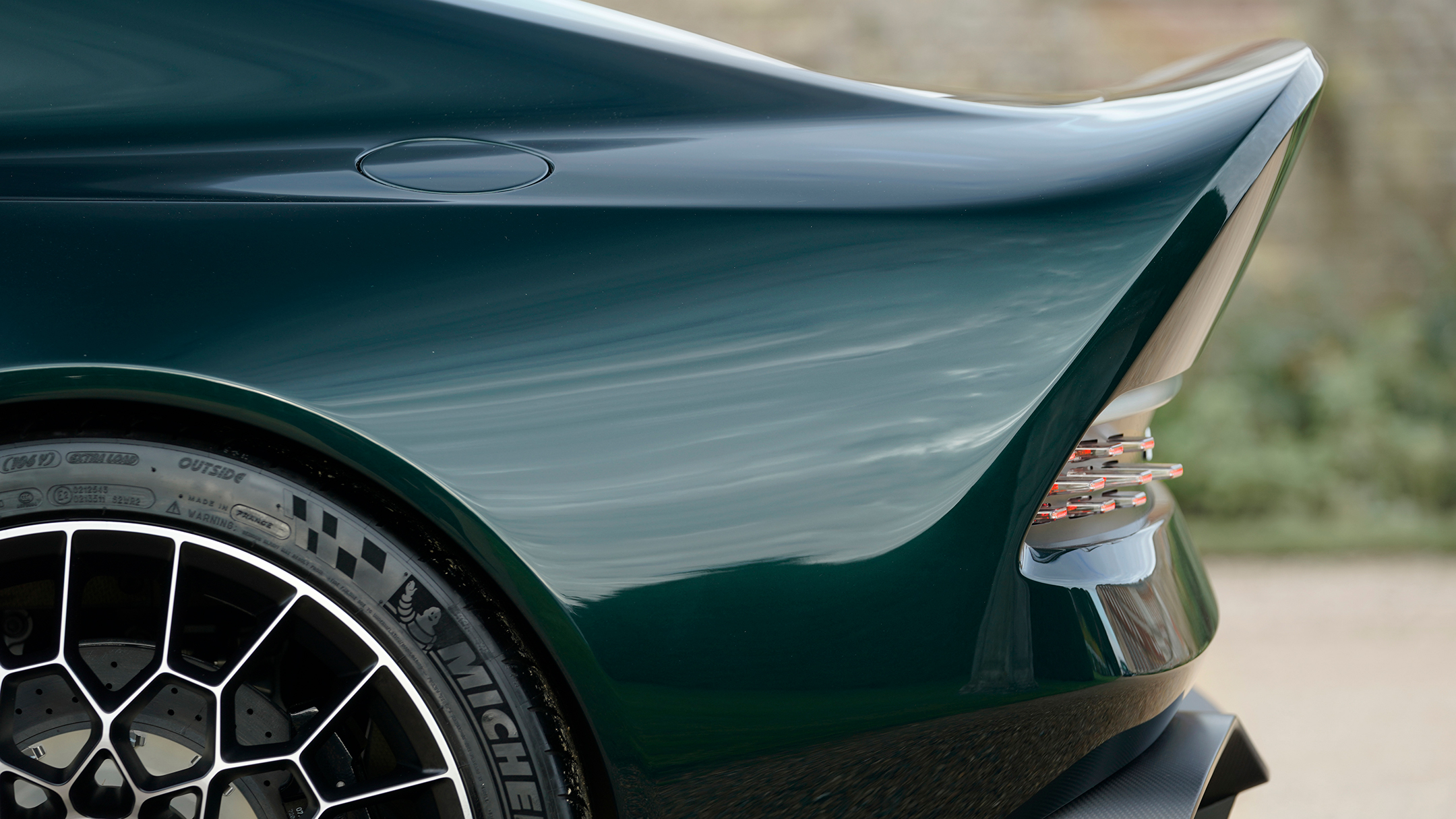 Aston Martin Victor by Q - 2020 - rear side