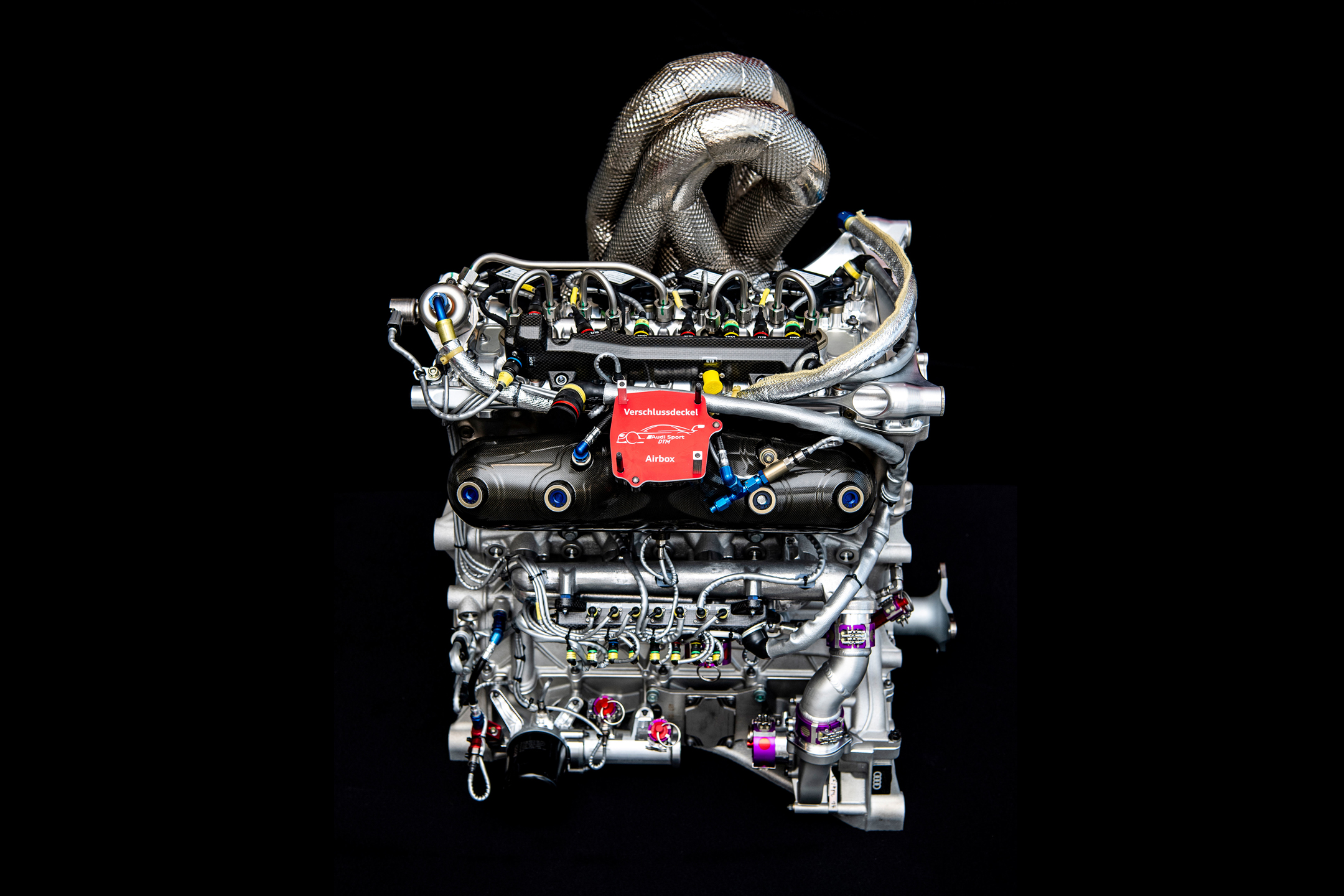Audi Sport - DTM - 2019 - engine / moteur - two-liter four-cylinder / 2.0L TFSI 4 cylindres