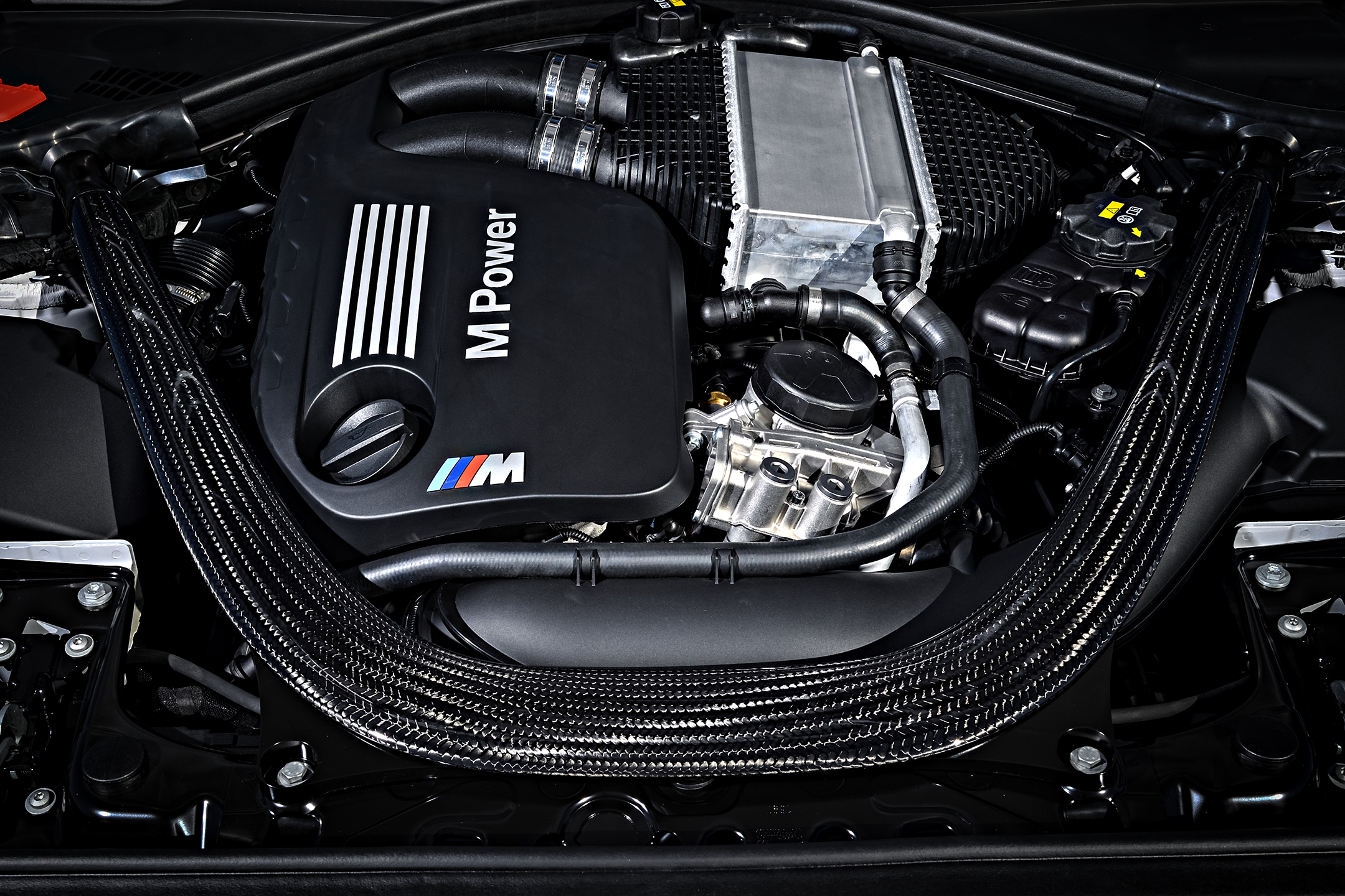 BMW M2 Competition – 2018 – under the hood – engine / moteur