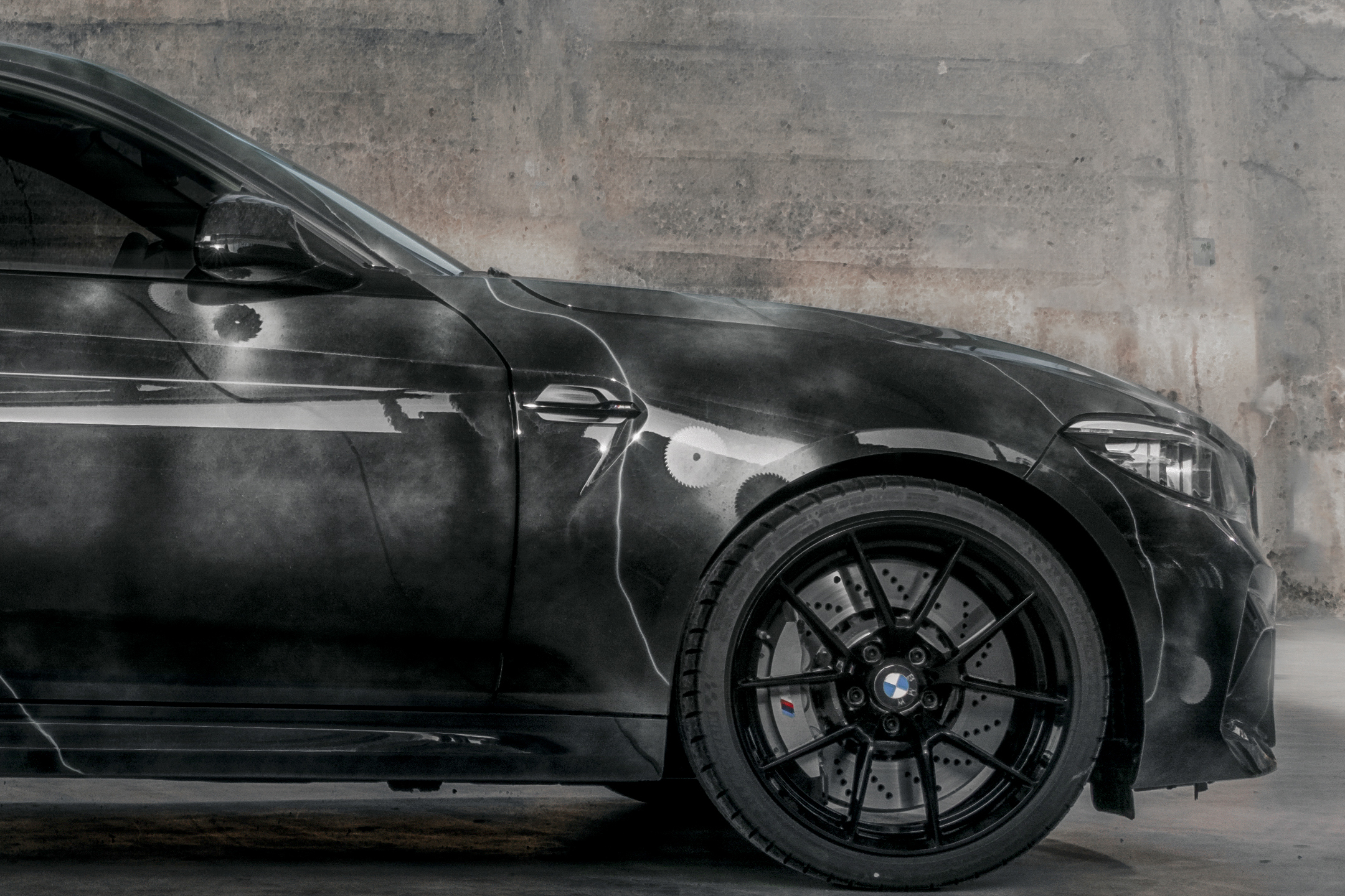 BMW M2 by FUTURA 2000 - Street Art Car - 2020 - front-wheel / jante avant