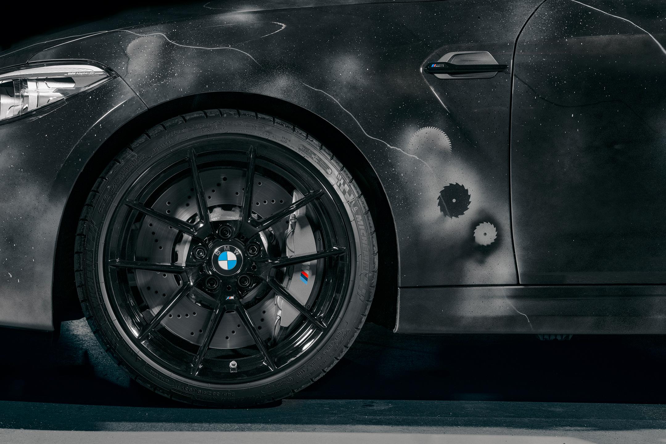 BMW M2 by FUTURA 2000 - Street Art Car - 2020 - wheel / jante - tyre / pneu - Michelin