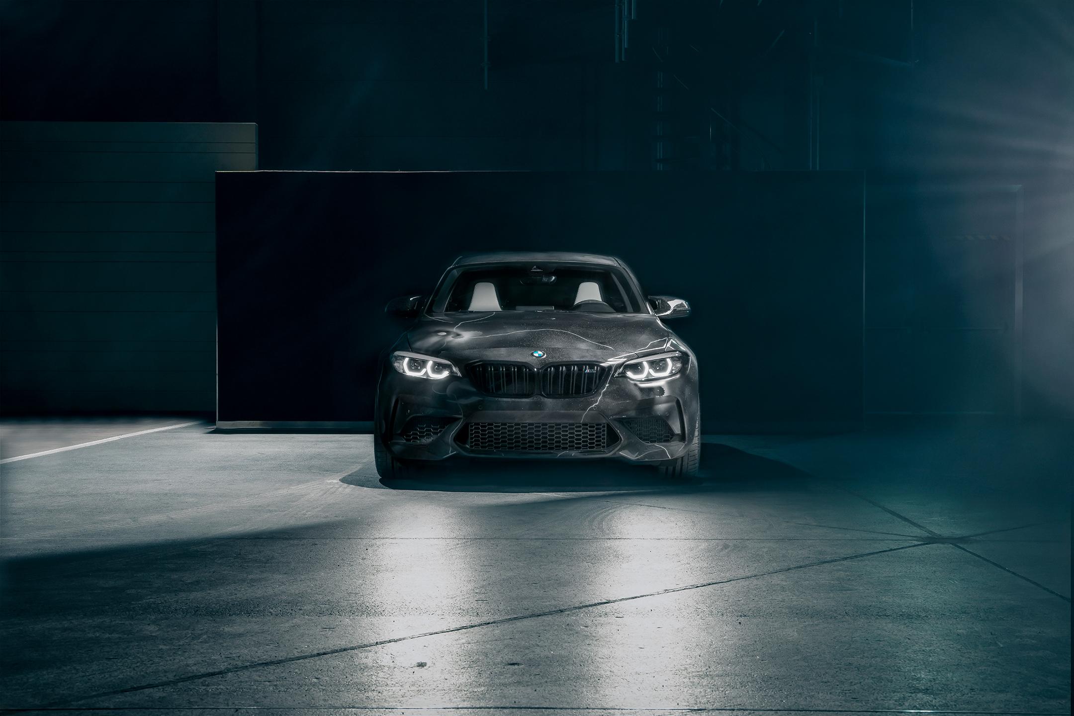 BMW M2 by FUTURA 2000 - Street Art Car - 2020 - front-face / face avant