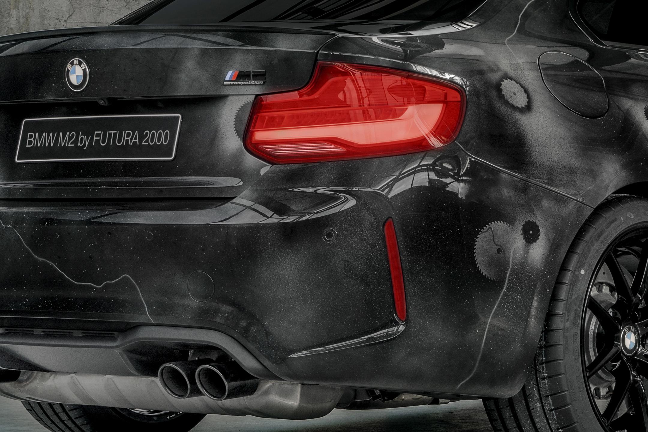 BMW M2 by FUTURA 2000 - Street Art Car - 2020 - rear light