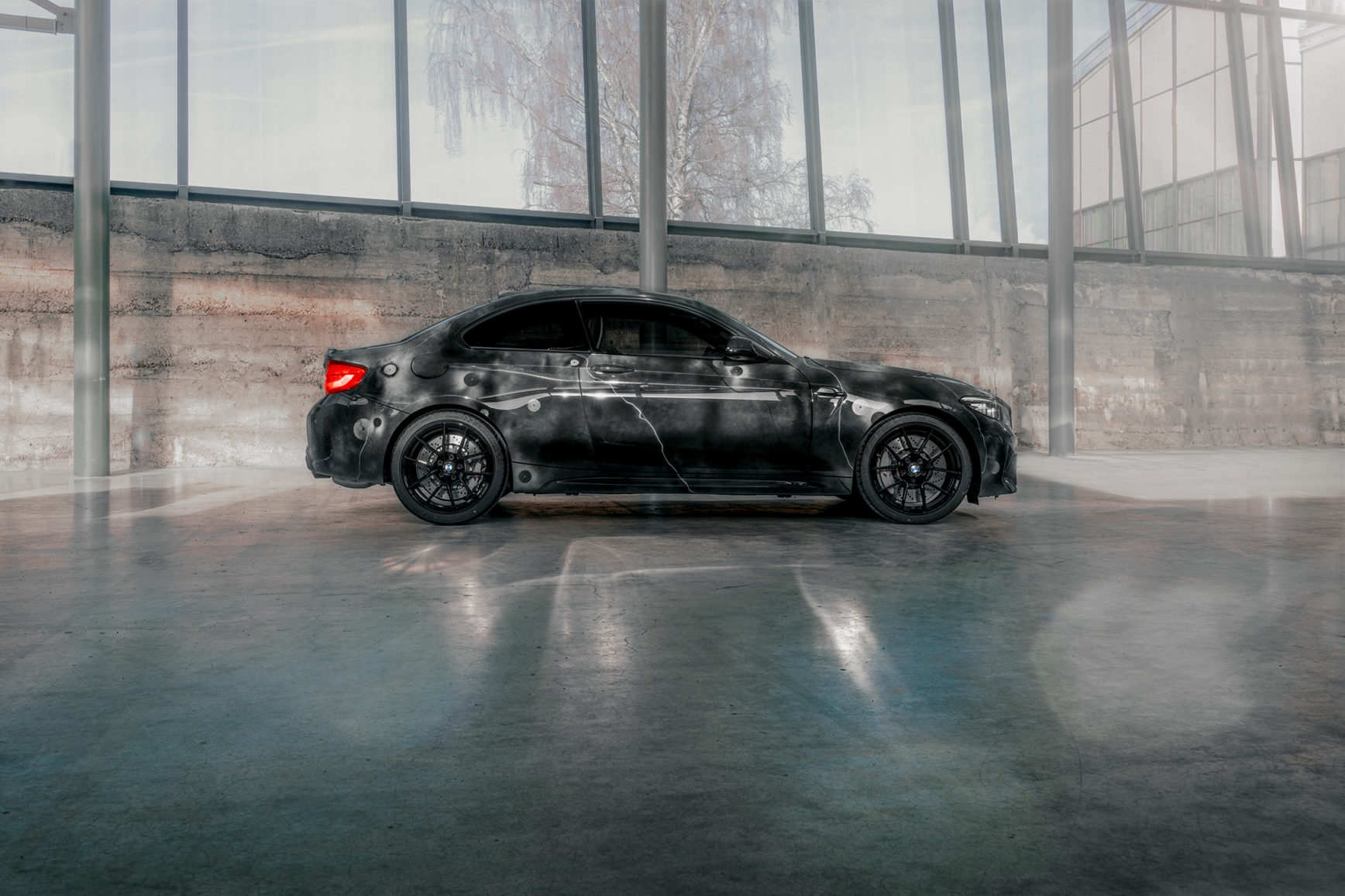 BMW M2 by FUTURA 2000 - Street Art Car - 2020 - side-face / profil