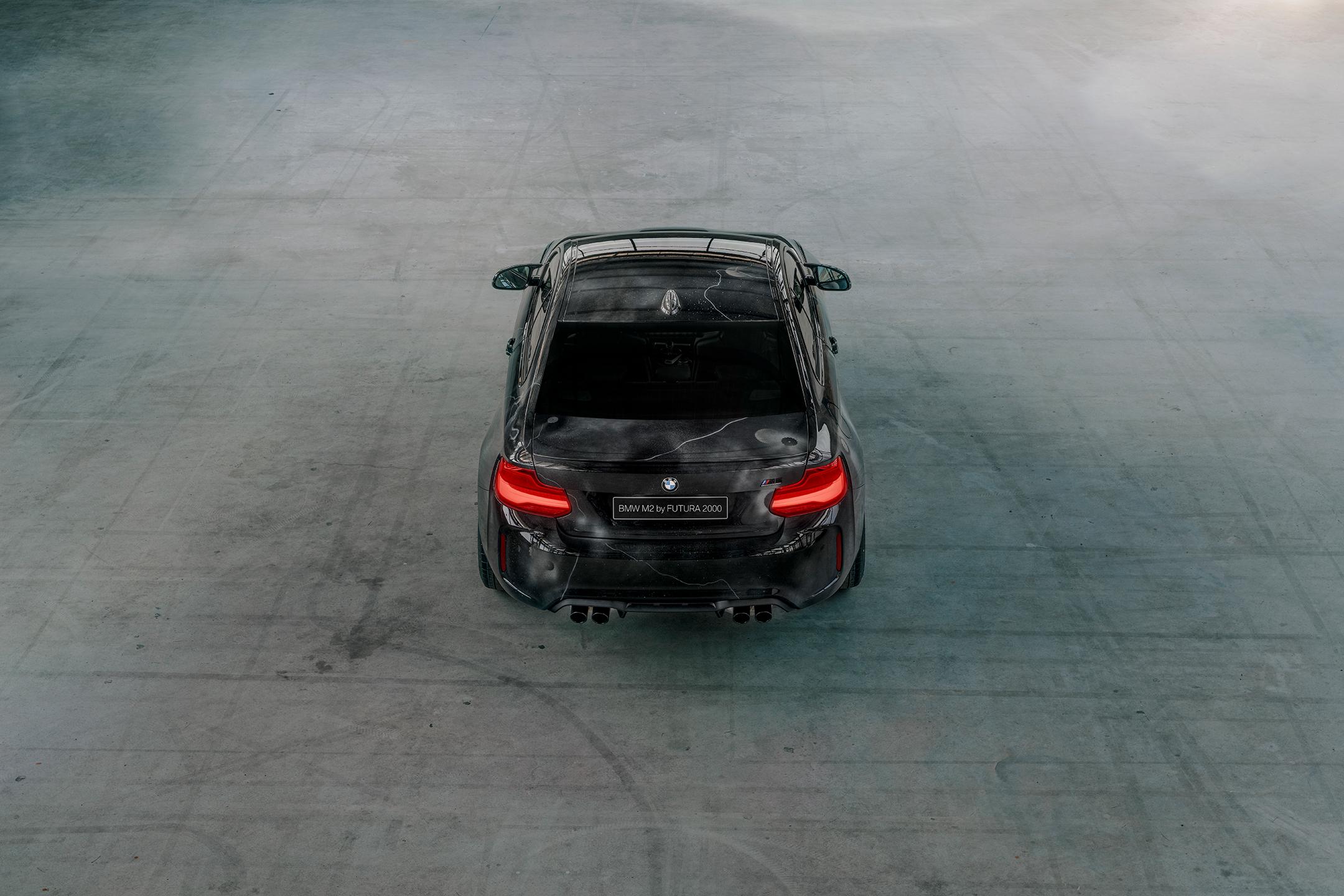 BMW M2 by FUTURA 2000 - Street Art Car - 2020 - top rear-face