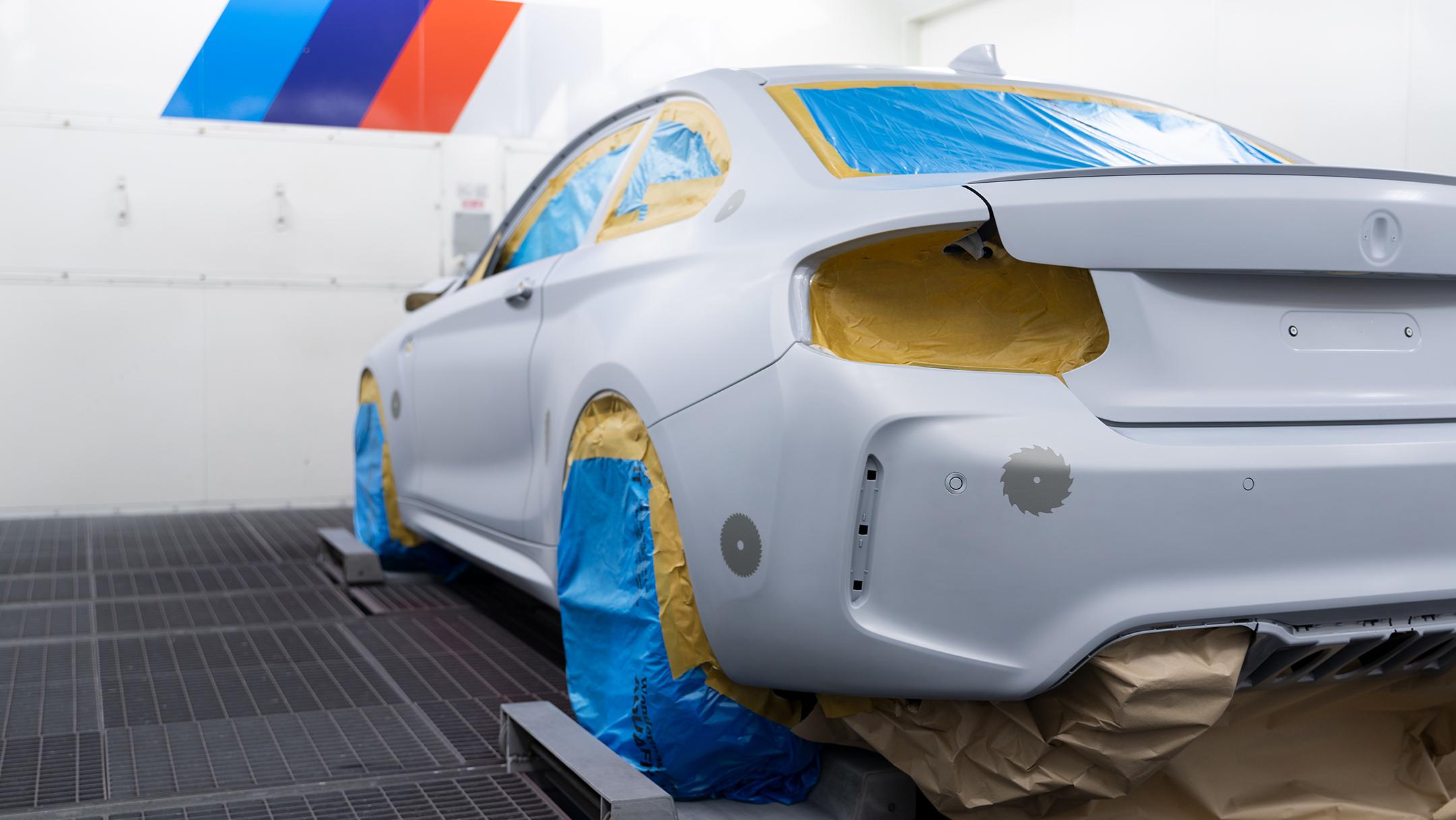 BMW M2 by FUTURA 2000 - Street Art Car - 2020 - working in progress - BMW M paint studio