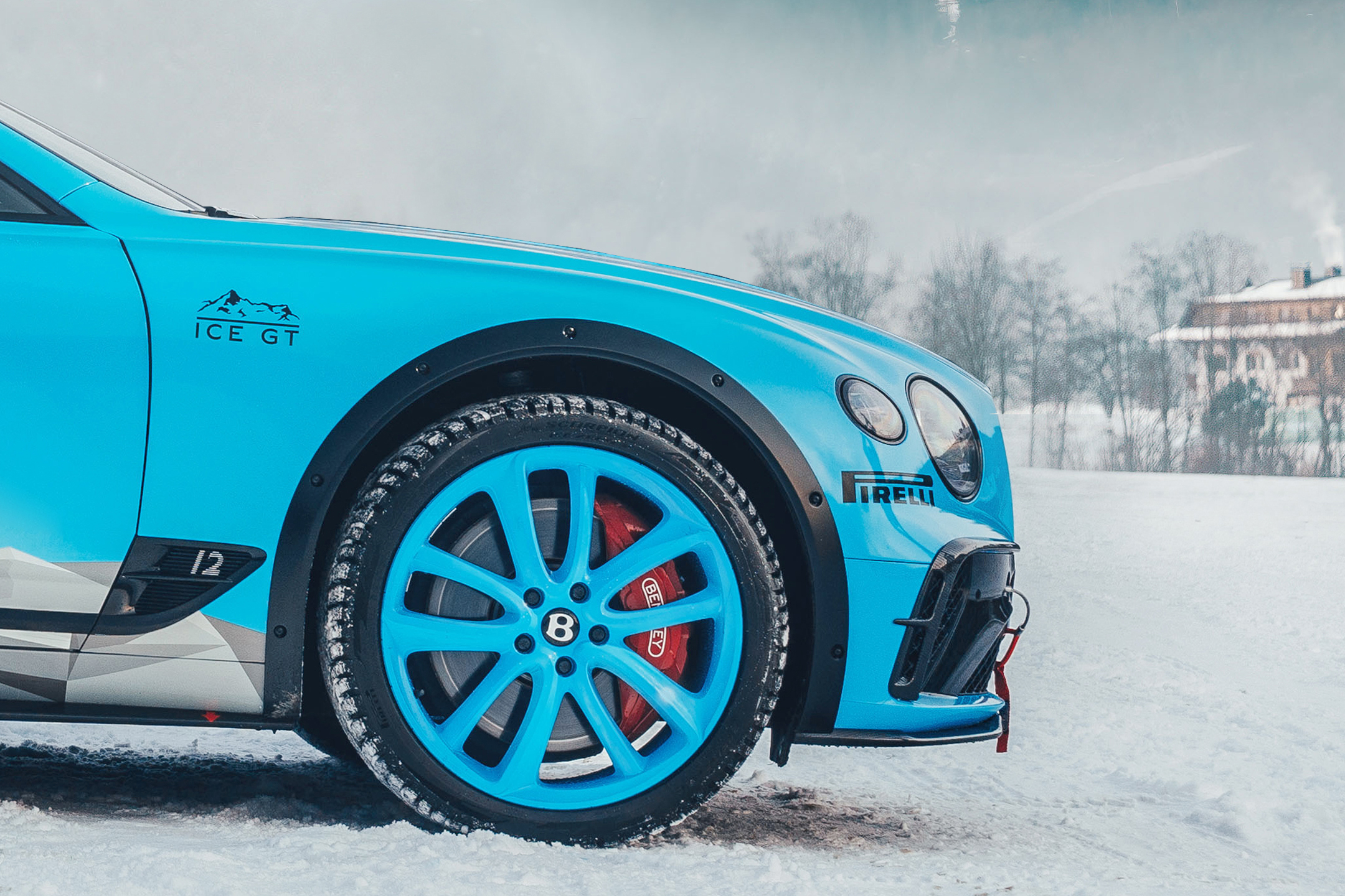 Bentley Continental GT Ice Race - 2020 - front wheel / jante avant