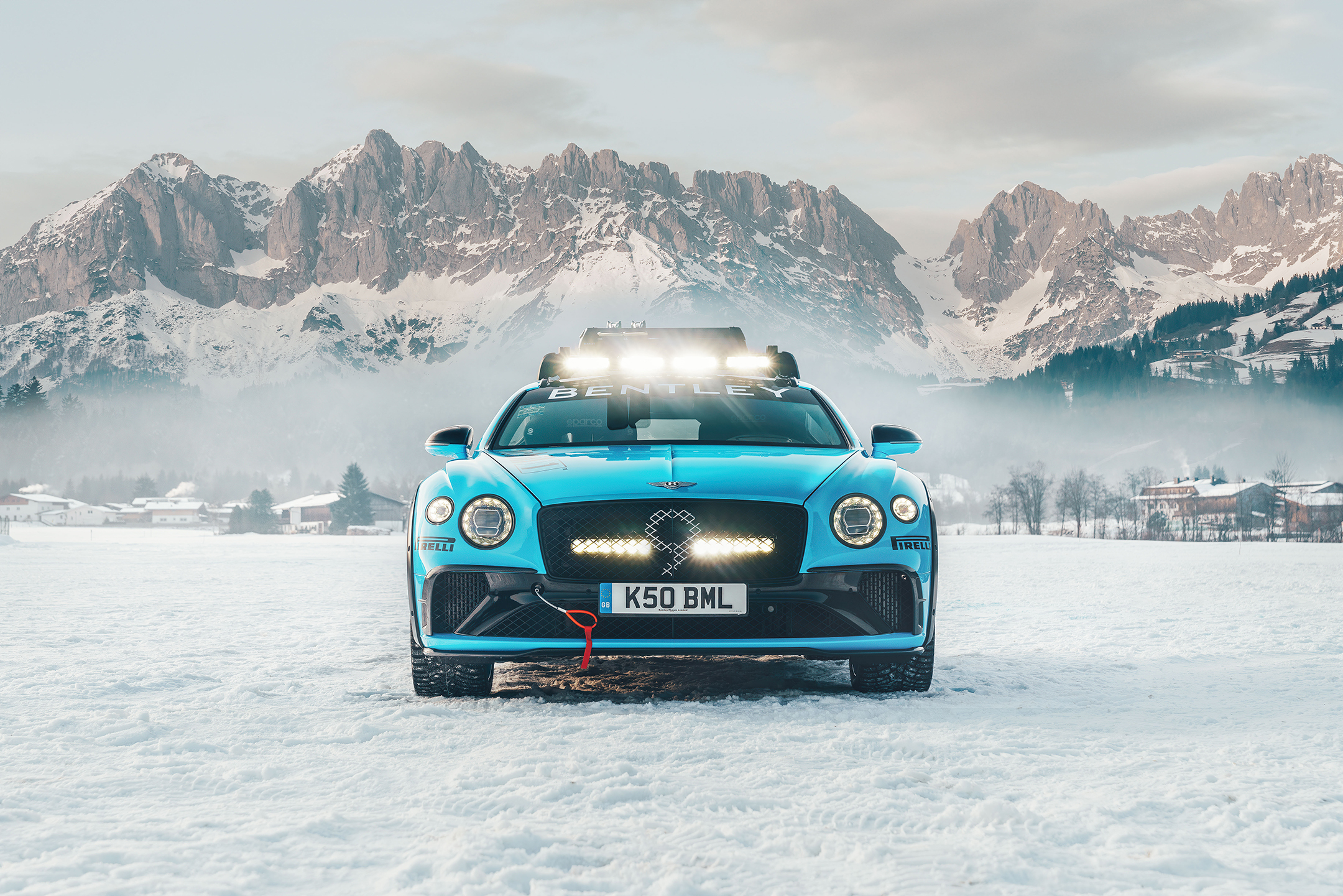 Bentley Continental GT Ice Race - 2020 - front-face / face avant