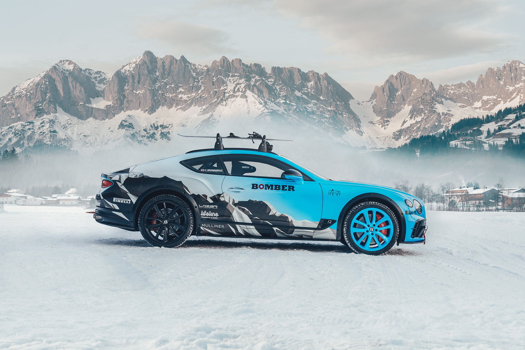 Bentley Continental GT Ice Race - 2020 - side-face / profil