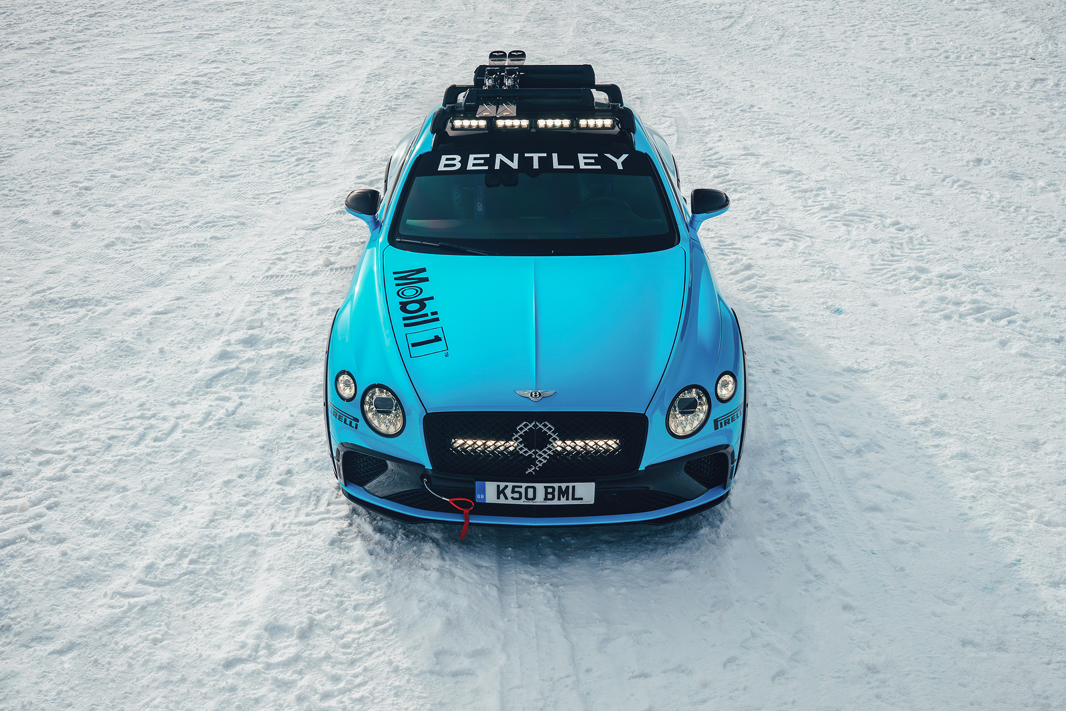 Bentley Continental GT Ice Race - 2020 - top - front face / face avant