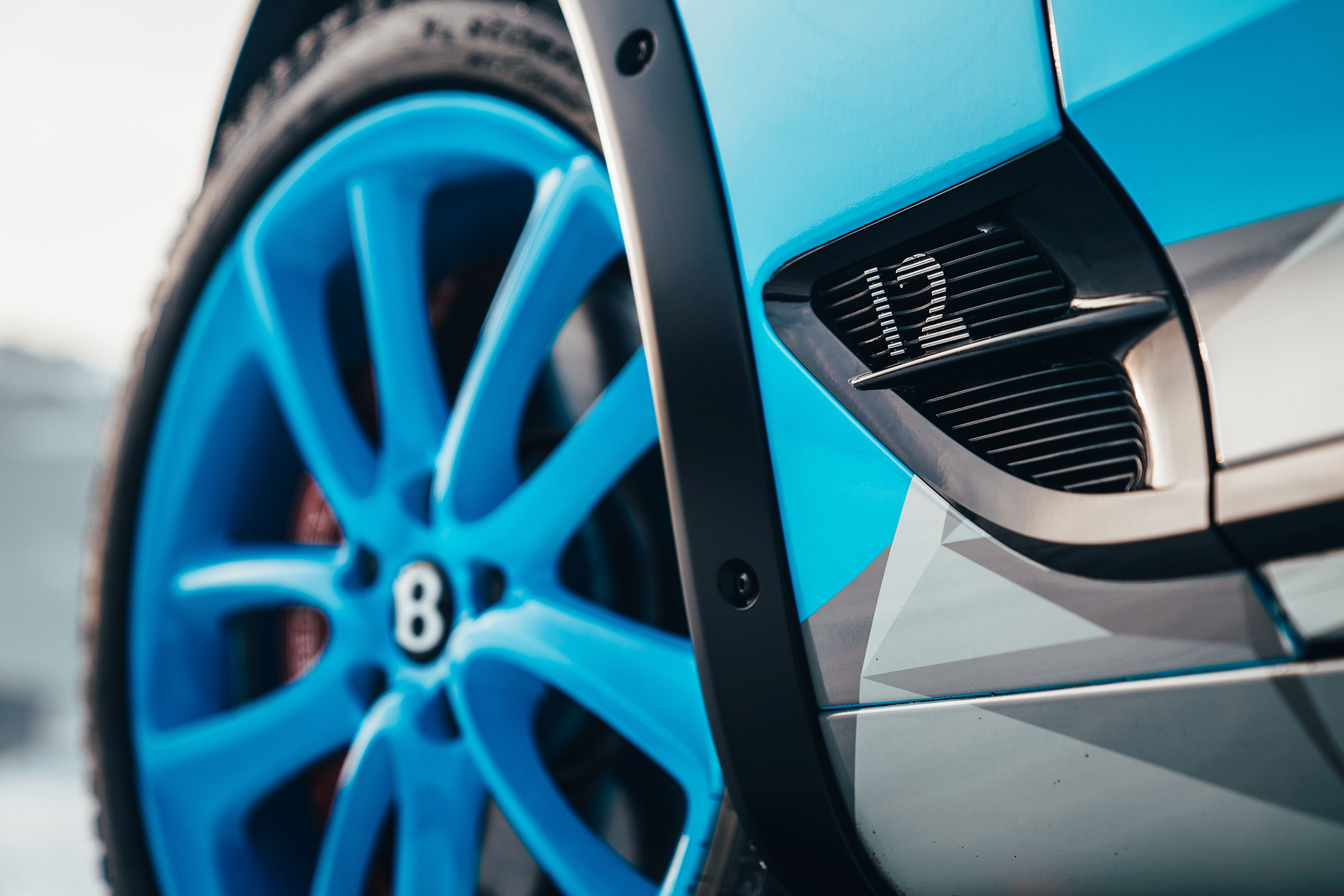 Bentley Continental GT Ice Race - 2020 - wheel preview