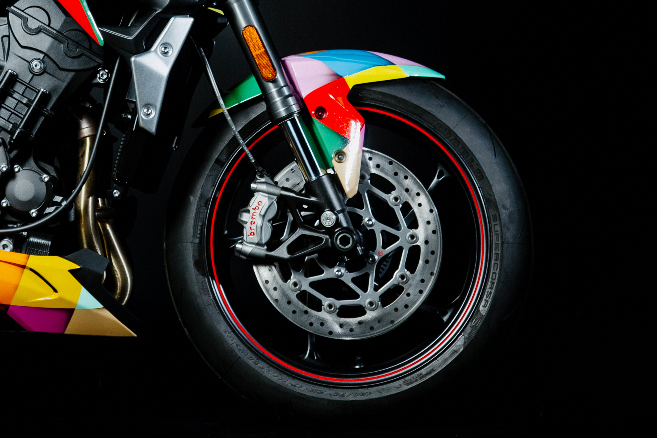 Birds of Prey Triumph Street Triple RS - 2020 - front wheel - Brembo brakes disc
