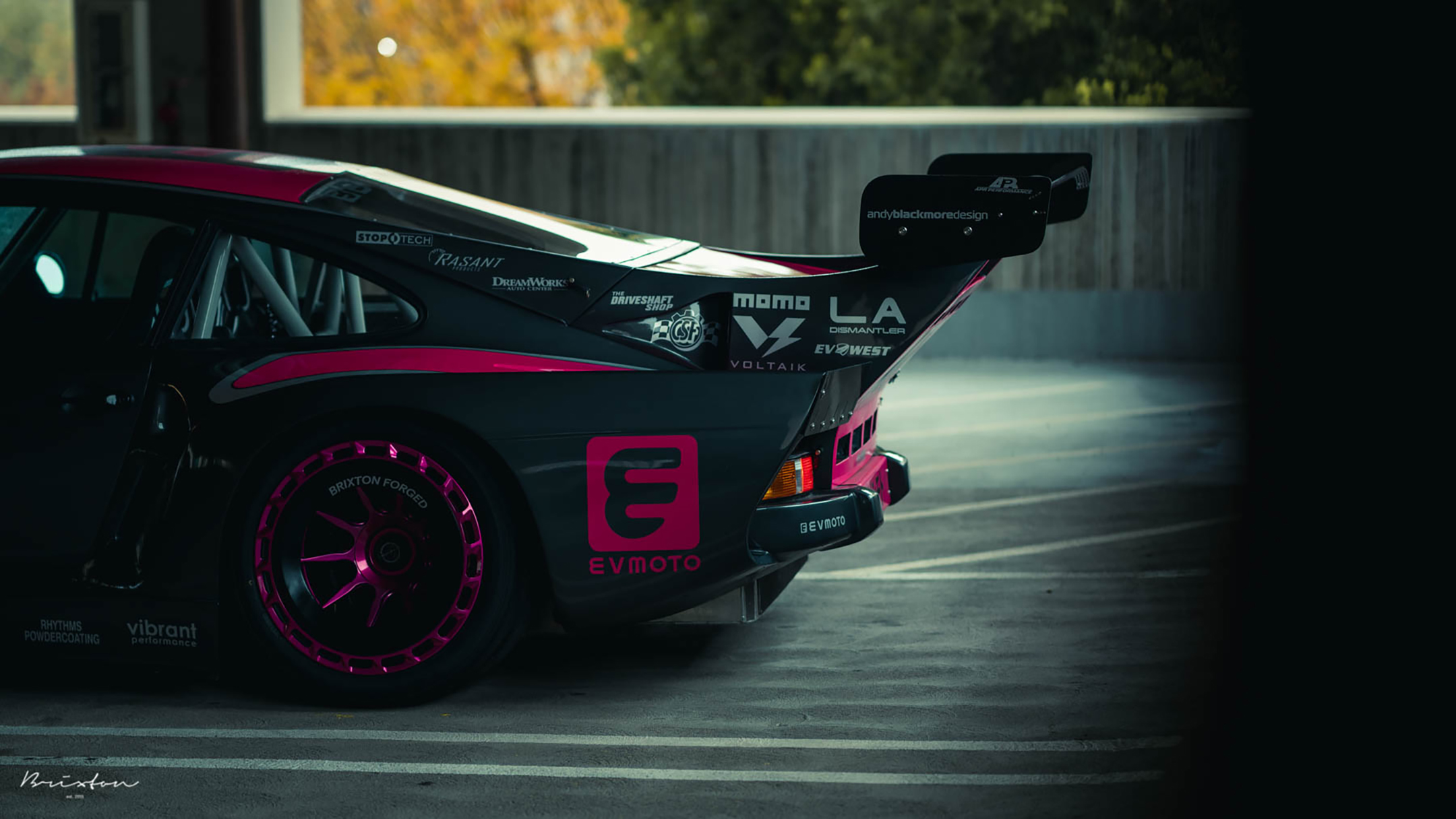Bisimoto Porsche 935 K3V - 2020 - rear side view