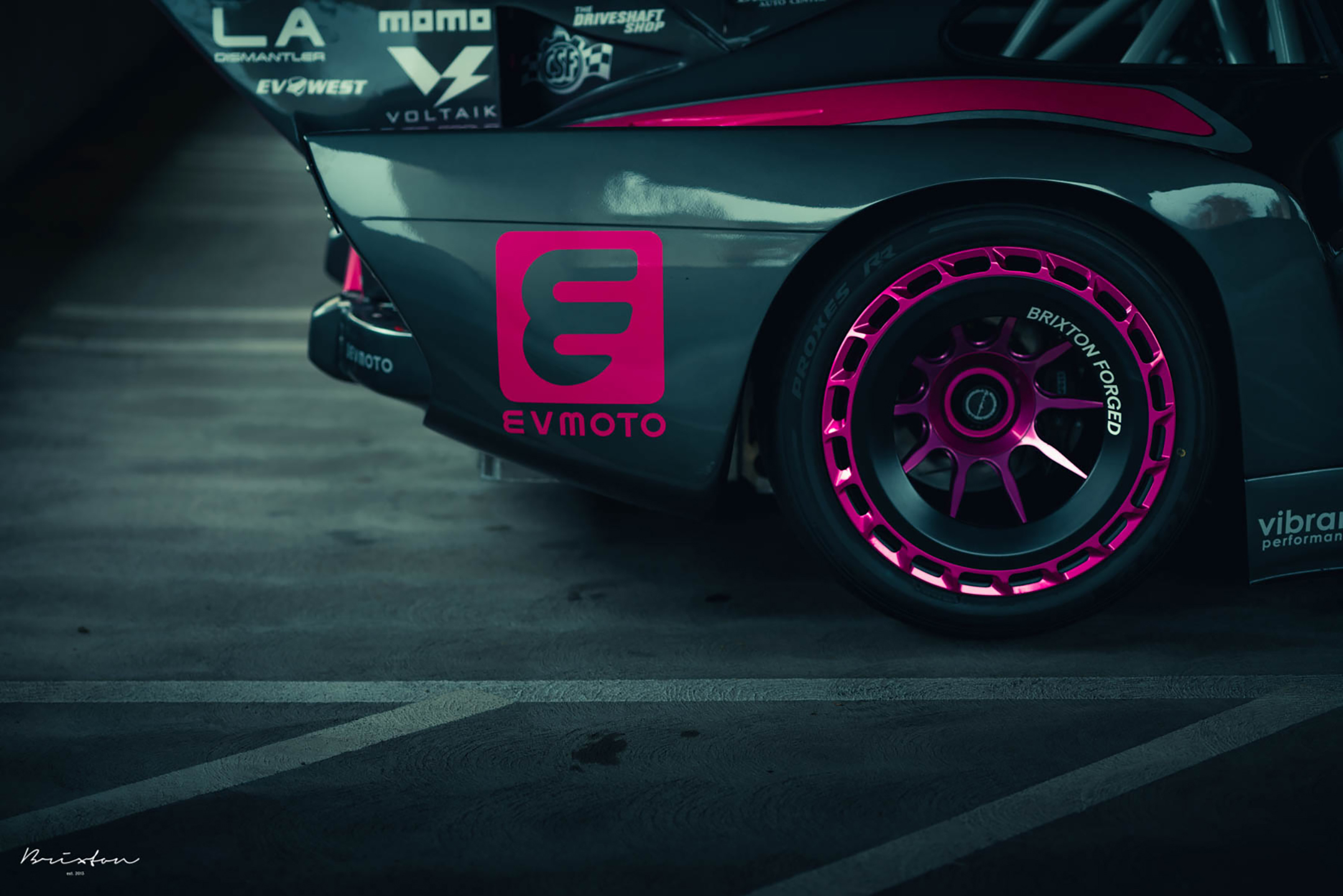 Bisimoto Porsche 935 K3V - 2020 - rear wheel / jante arrière - Brixton Forged