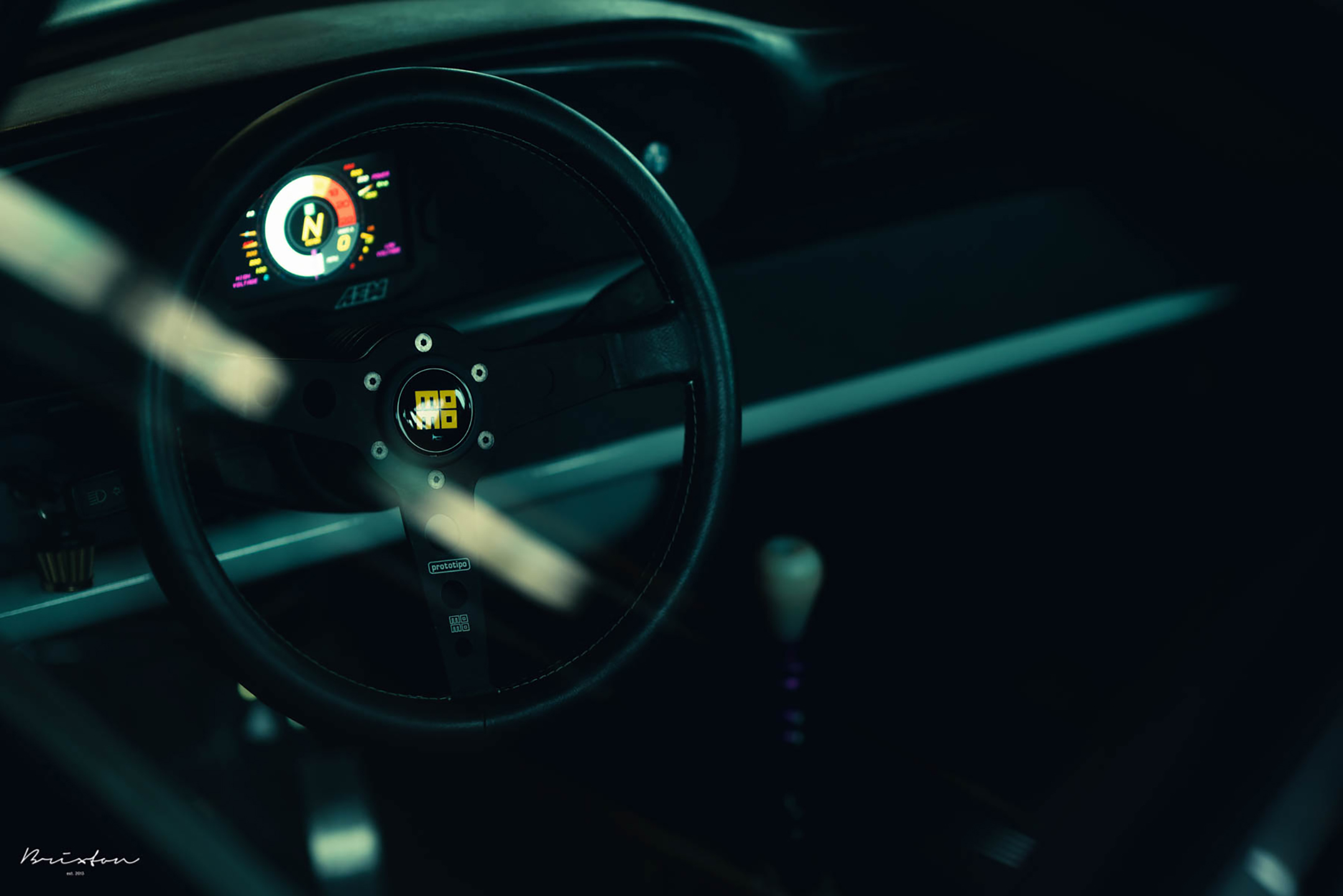 Bisimoto Porsche 935 K3V - 2020 - steering wheel / volant - MOMO