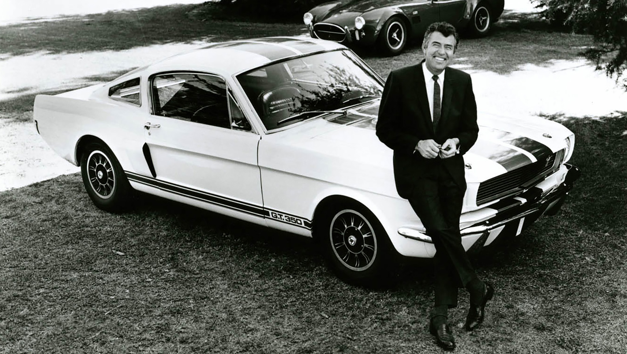 Carroll Shelby - 1965 - Shelby Mustang GT350 - heritage photography - via Shelby America