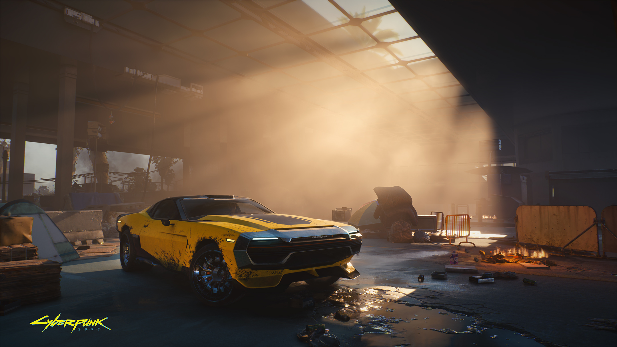 Cyberpunk 2077 - Quadra car - 2020 - official screen - sweet ride