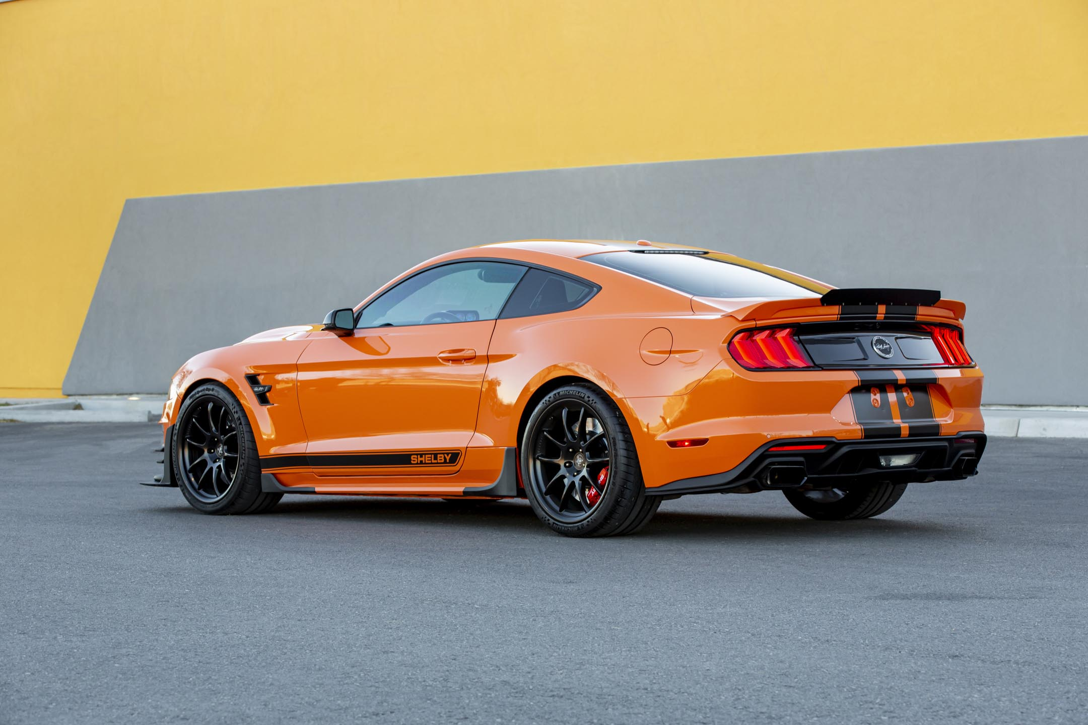 Ford Mustang Carroll Shelby Signature Series - 2020 - rear side-face / profil arrière