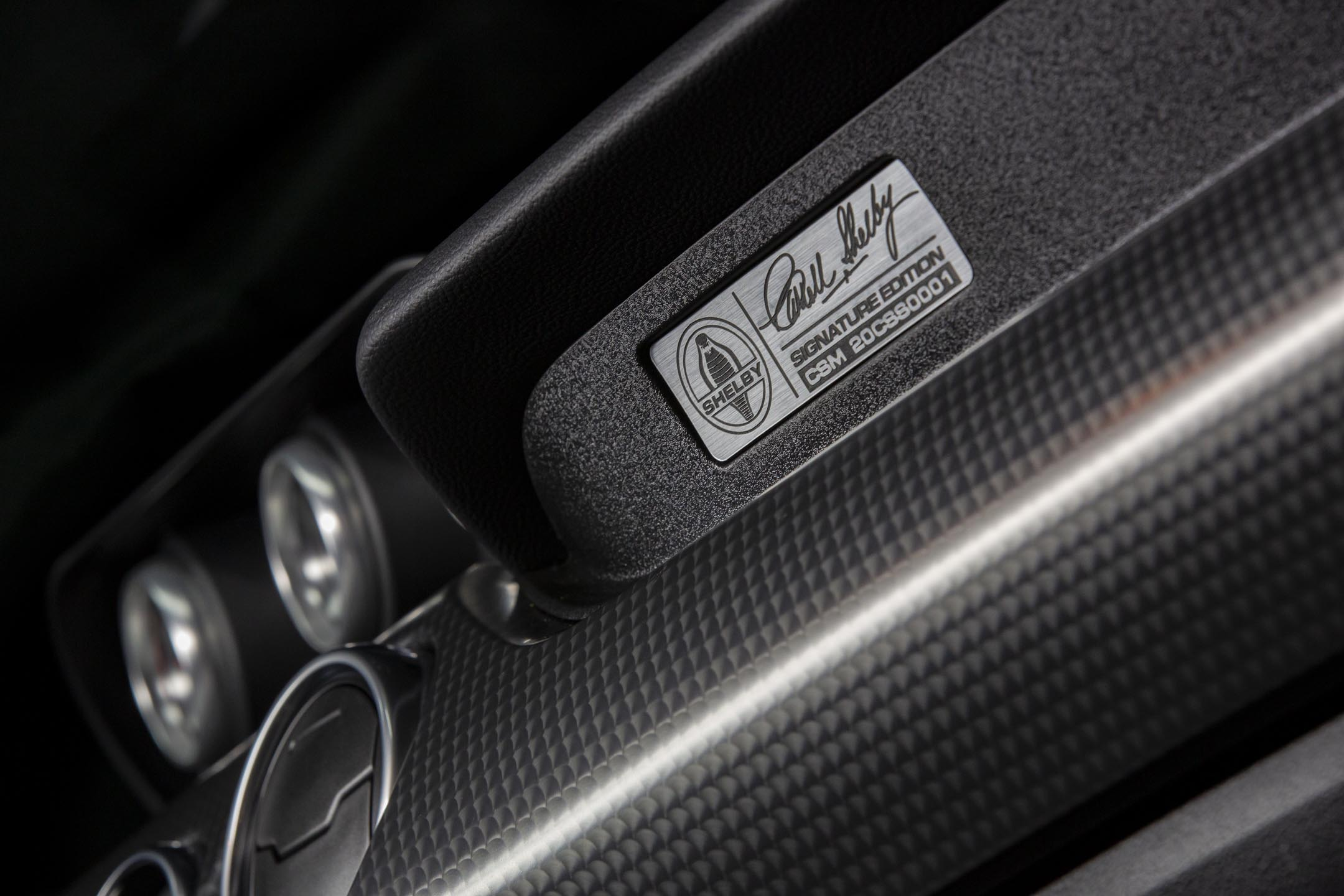 Ford Mustang Carroll Shelby Signature Series - 2020 - interior / intérieur - model signature edition