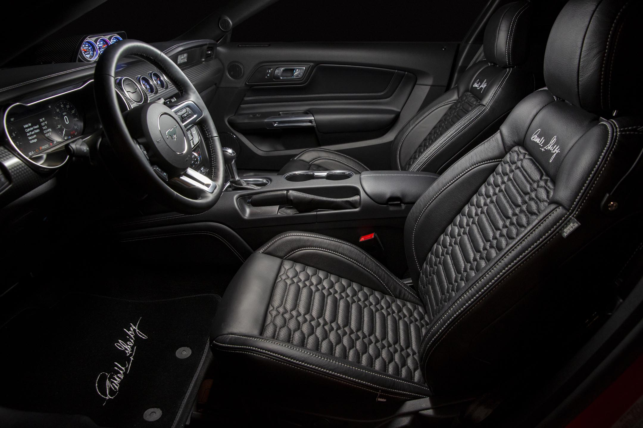 Ford Mustang Carroll Shelby Signature Series - 2020 - interior / intérieur