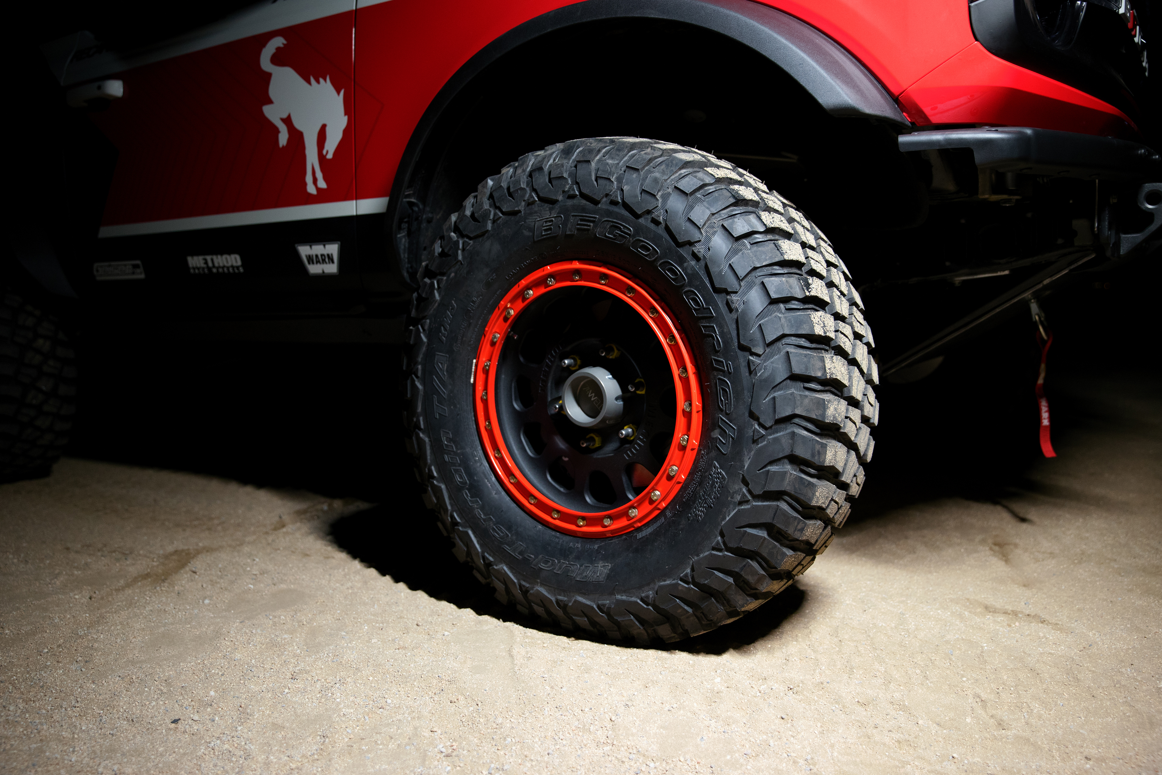 Ford Performance Bronco 4600 ULTRA4 - wheel / jante - tyres / pneus - BFGoodrich