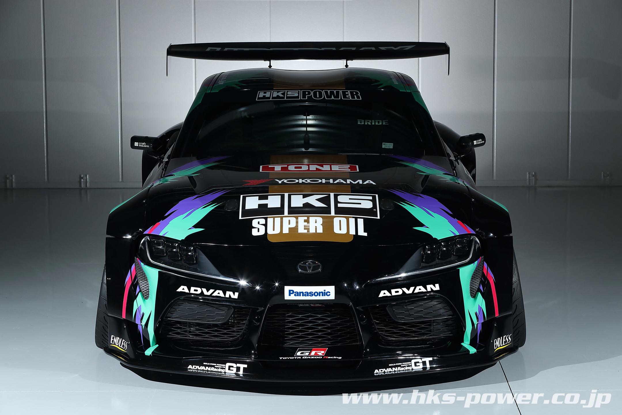 HKS Toyota GR Supra Drift - 2019 - front-face / face avant