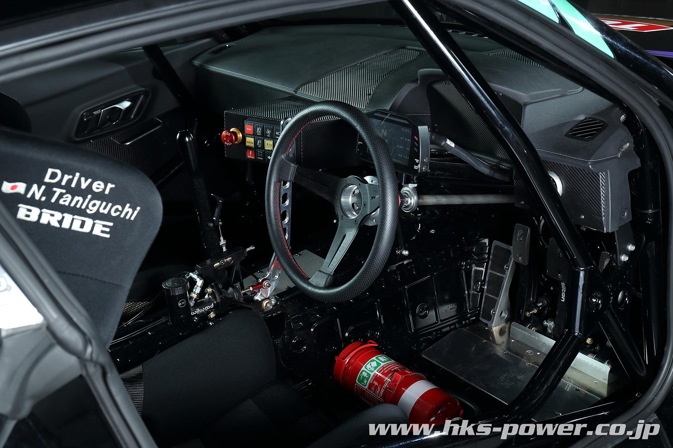 HKS Toyota GR Supra Drift - 2019 - interior / intérieur