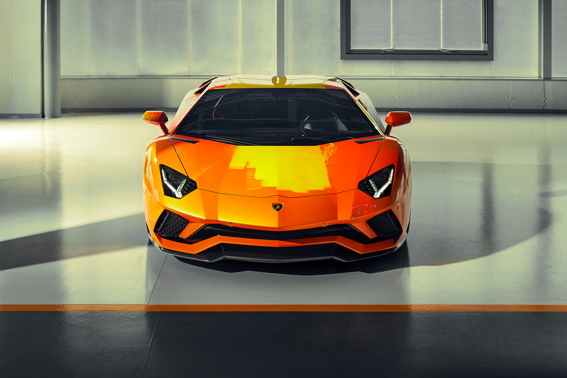 Lamborghini one-off Aventador S by Skyler Grey Art - 2019 - front-face / face avant