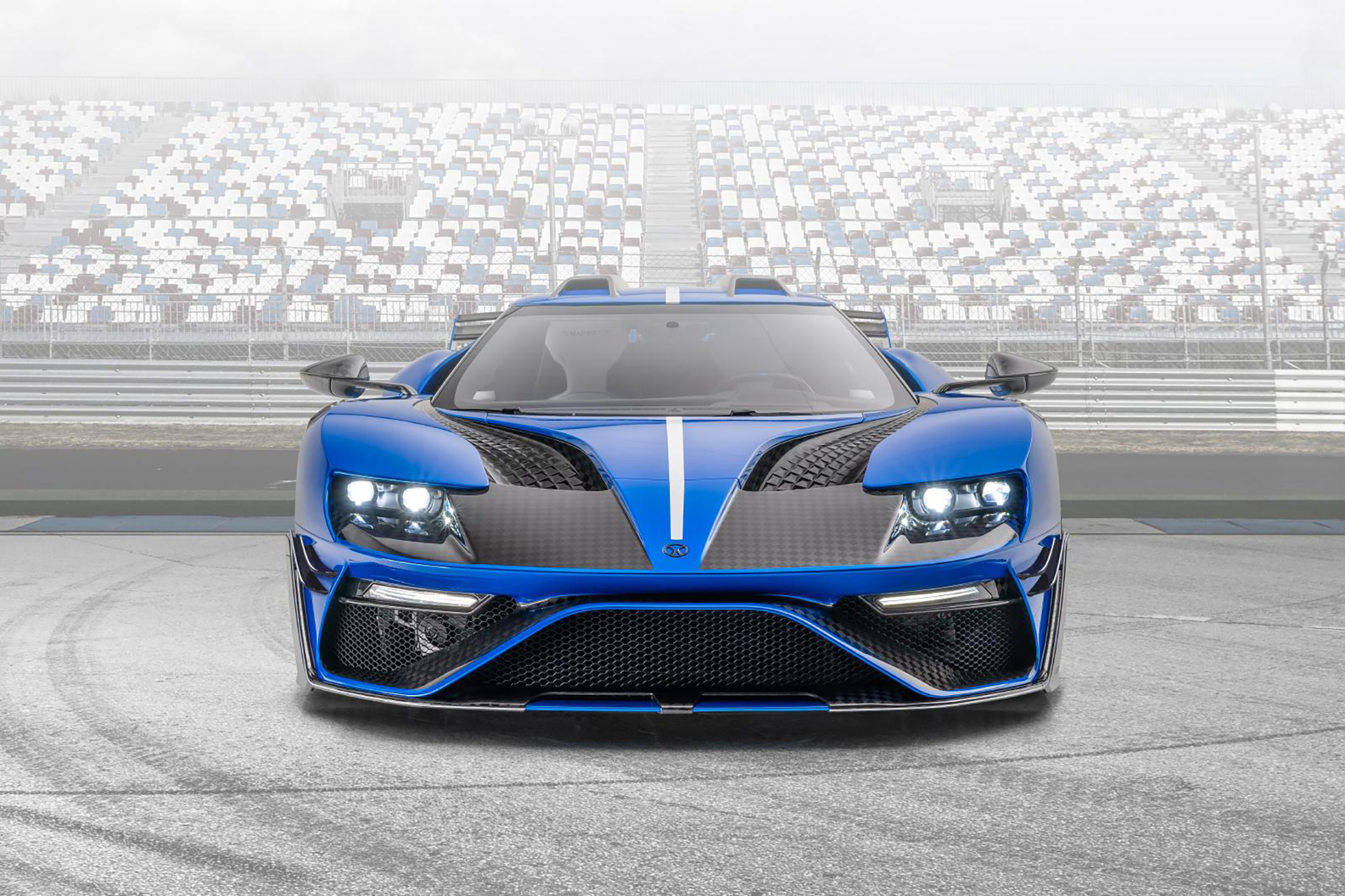 Le MANSORY - Ford GT custom - 2020 - front-face / face avant