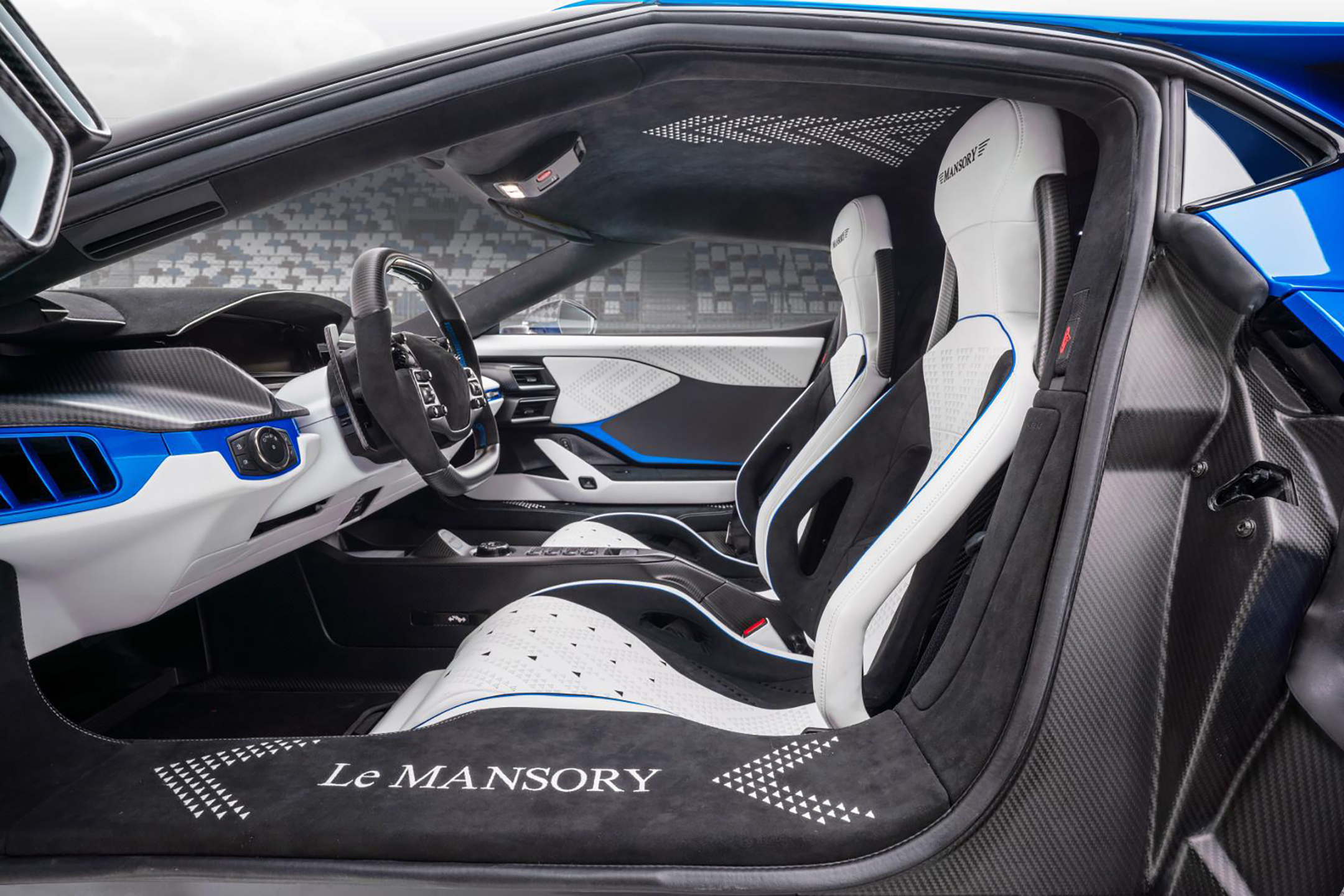Le MANSORY - Ford GT custom - 2020 - seats / sièges