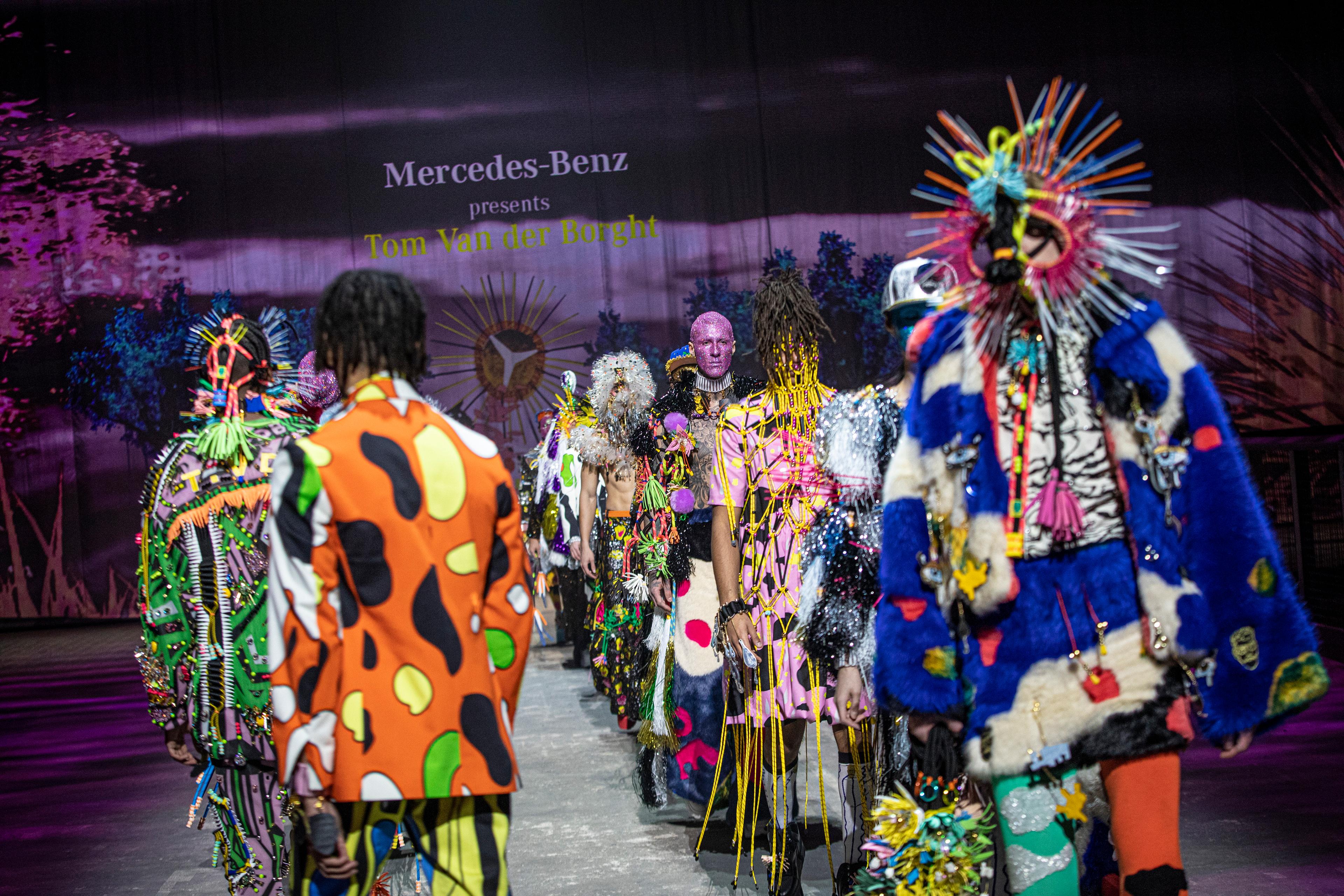 Mercedes-Benz Fashion Week x Tom Van der Borght - MBFW Berlin - 2021 - TVDB - collection - catwalk / défilé - preview / aperçu