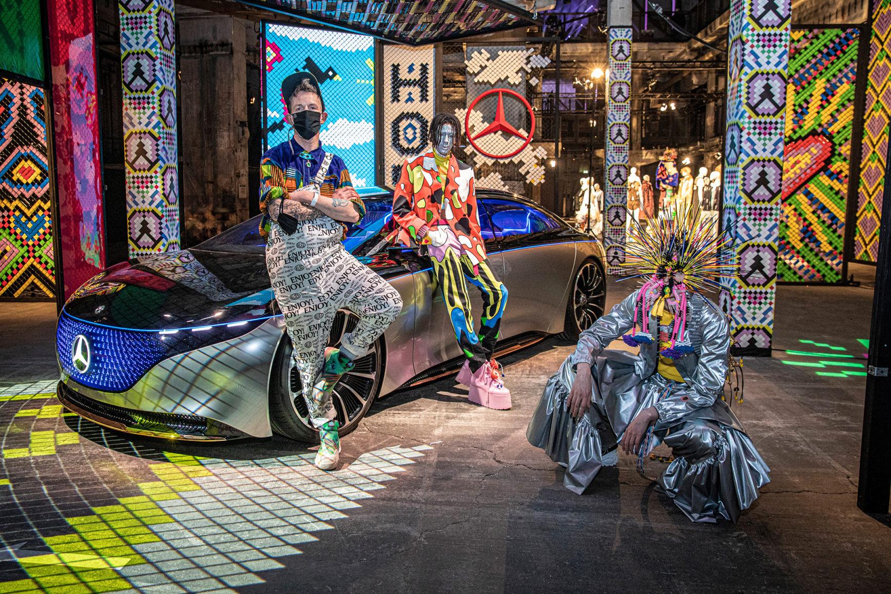 Kraftwerk - Mercedes-Benz Fashion Week x Tom Van der Borght - MBFW Berlin - 2021 - teaser