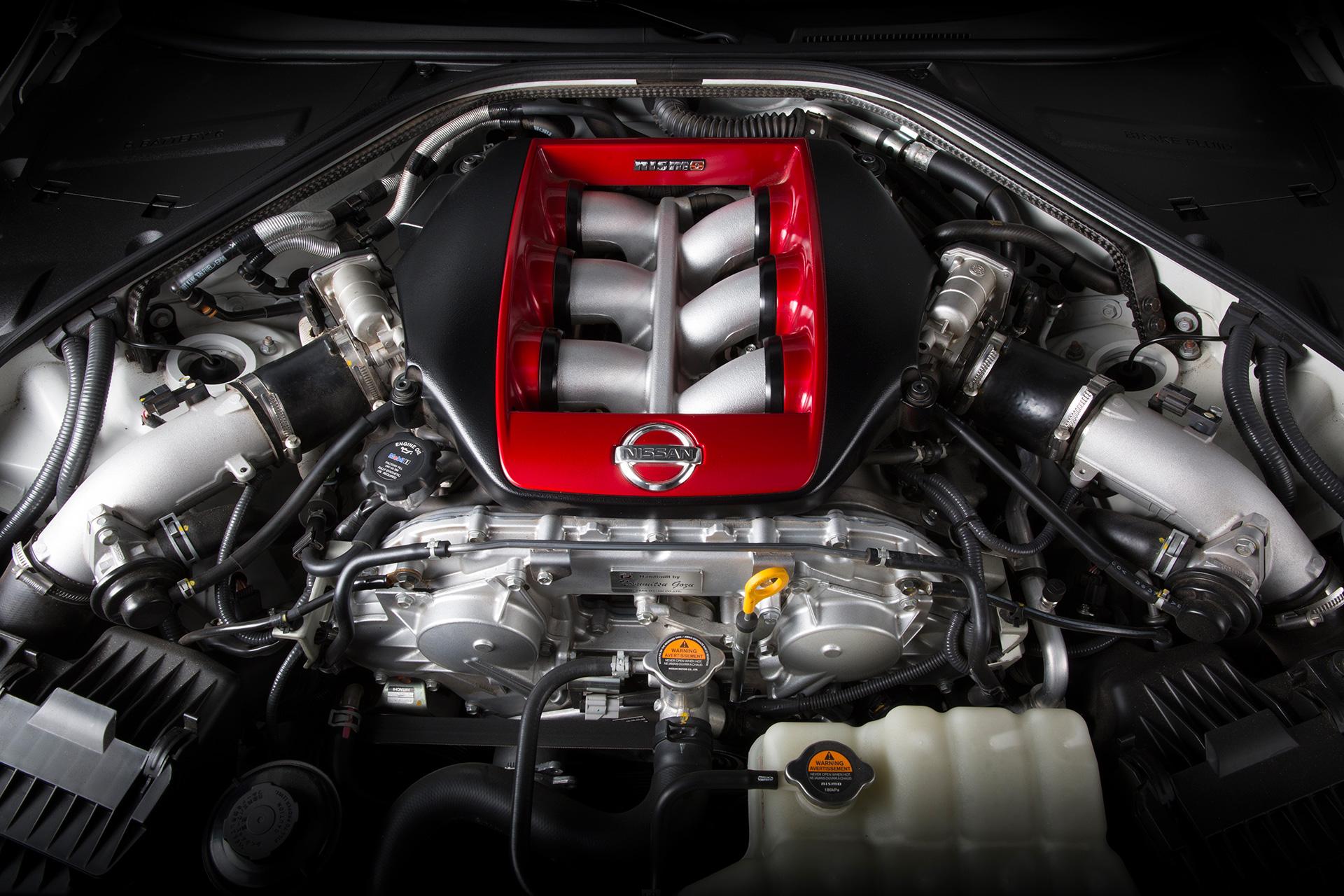 Nissan GT-R NISMO – moteur / engine - V6 3.8L TwinTurbo