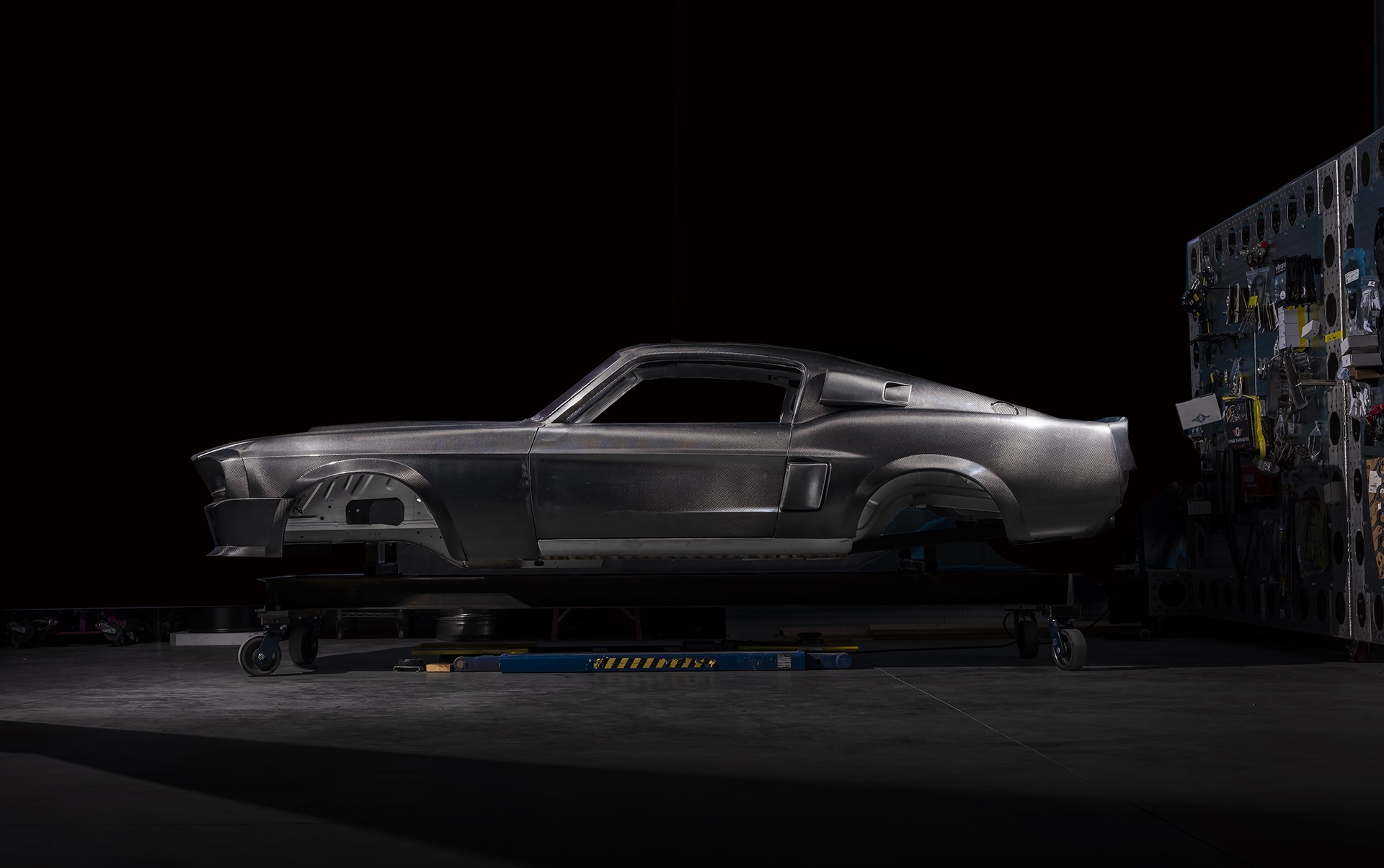 Classic Recreations Shelby GT500CR Carbon SpeedKore - 2021 - chassis carbon fiber
