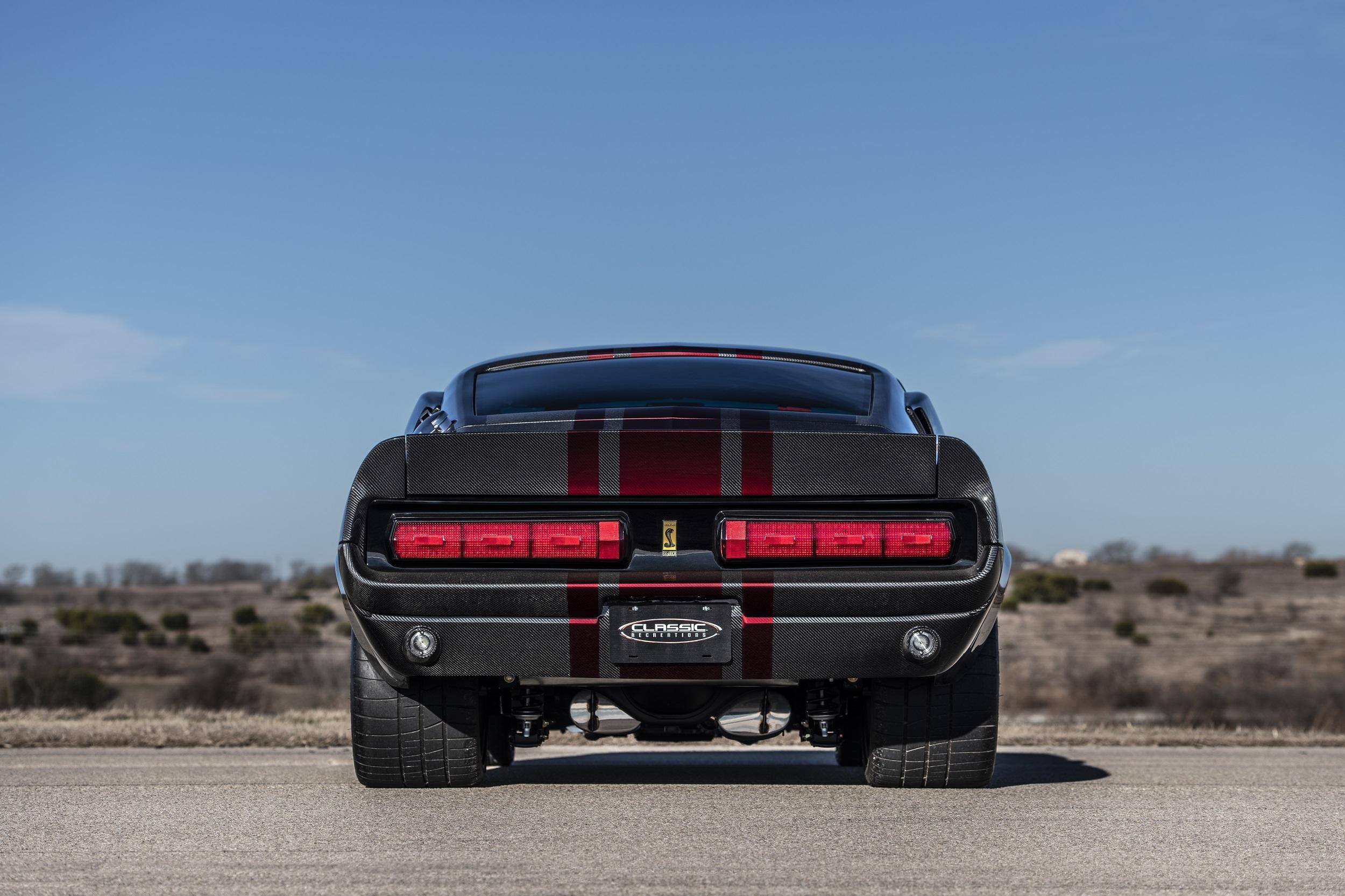 Classic Recreations Shelby GT500CR Carbon SpeedKore - 2021 - rear face / face arrière