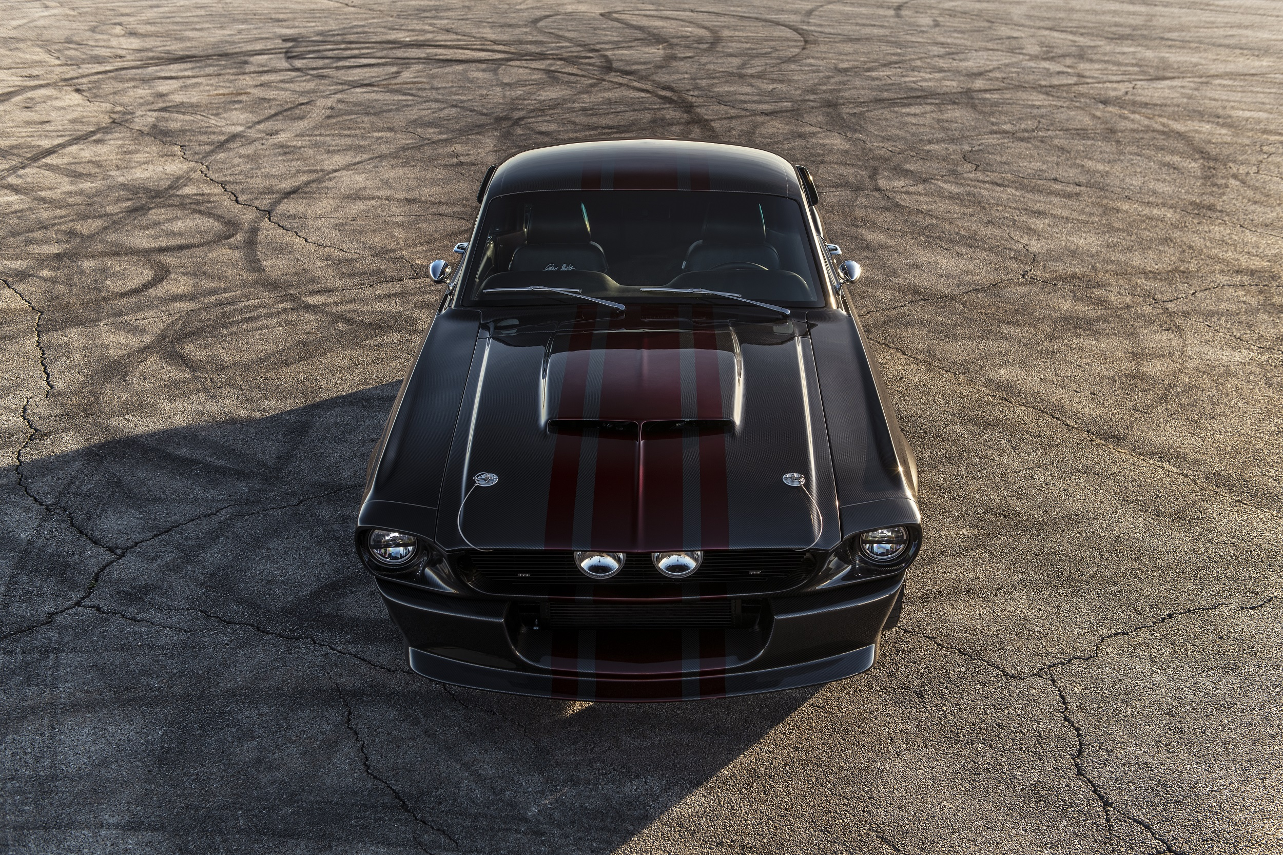 Classic Recreations Shelby GT500CR Carbon SpeedKore - 2021 - top - front-face / face avant