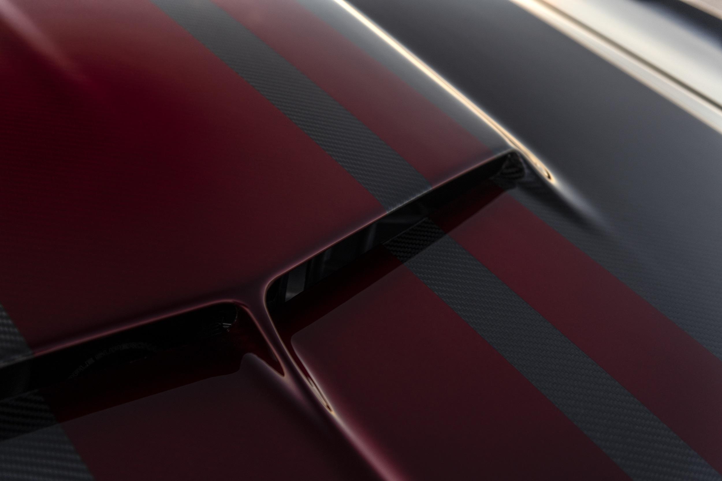 Classic Recreations Shelby GT500CR Carbon SpeedKore - 2021 - top - front hood / capot avant