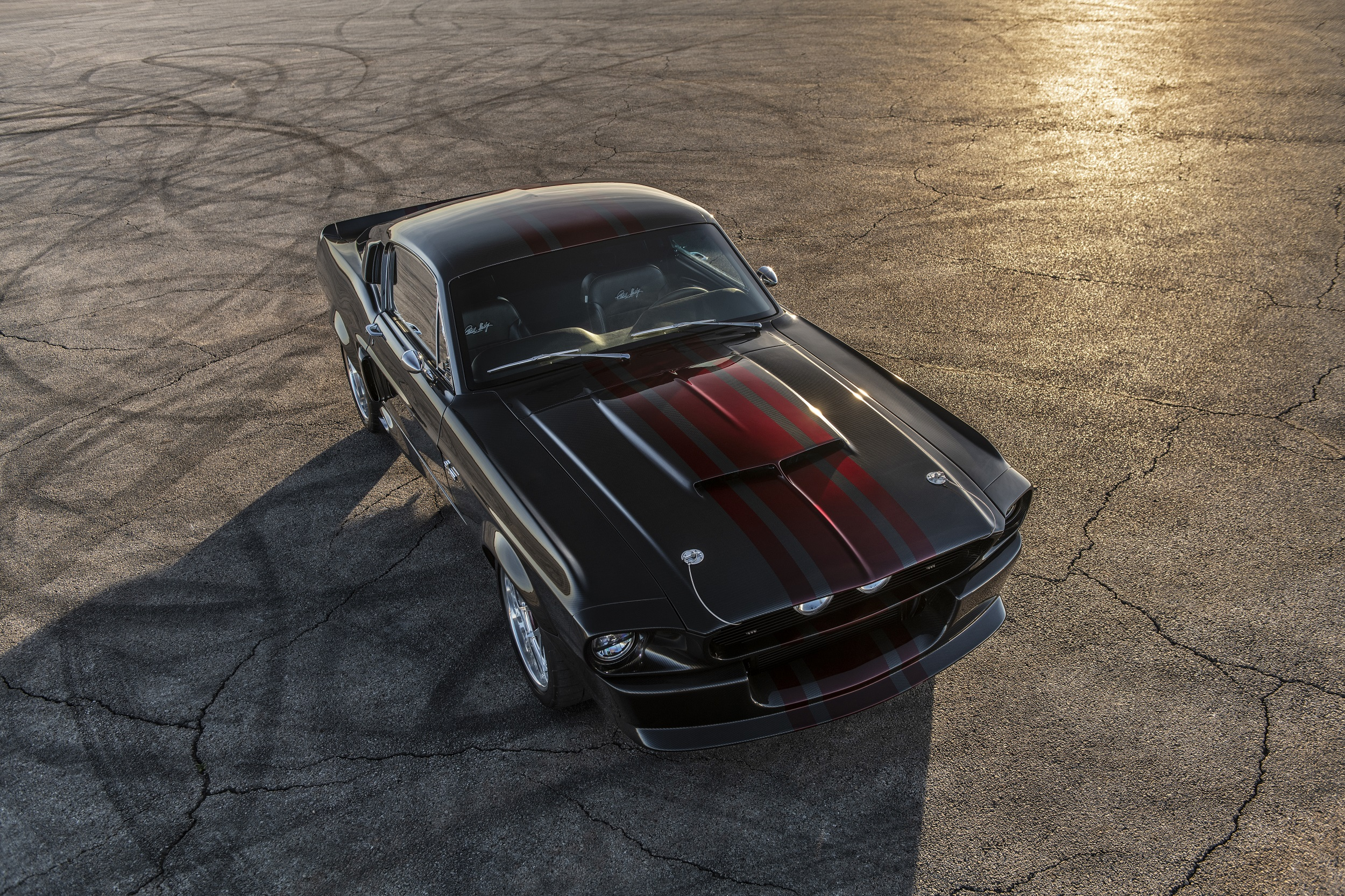 Classic Recreations Shelby GT500CR Carbon SpeedKore - 2021 - top - front side-face / profil avant