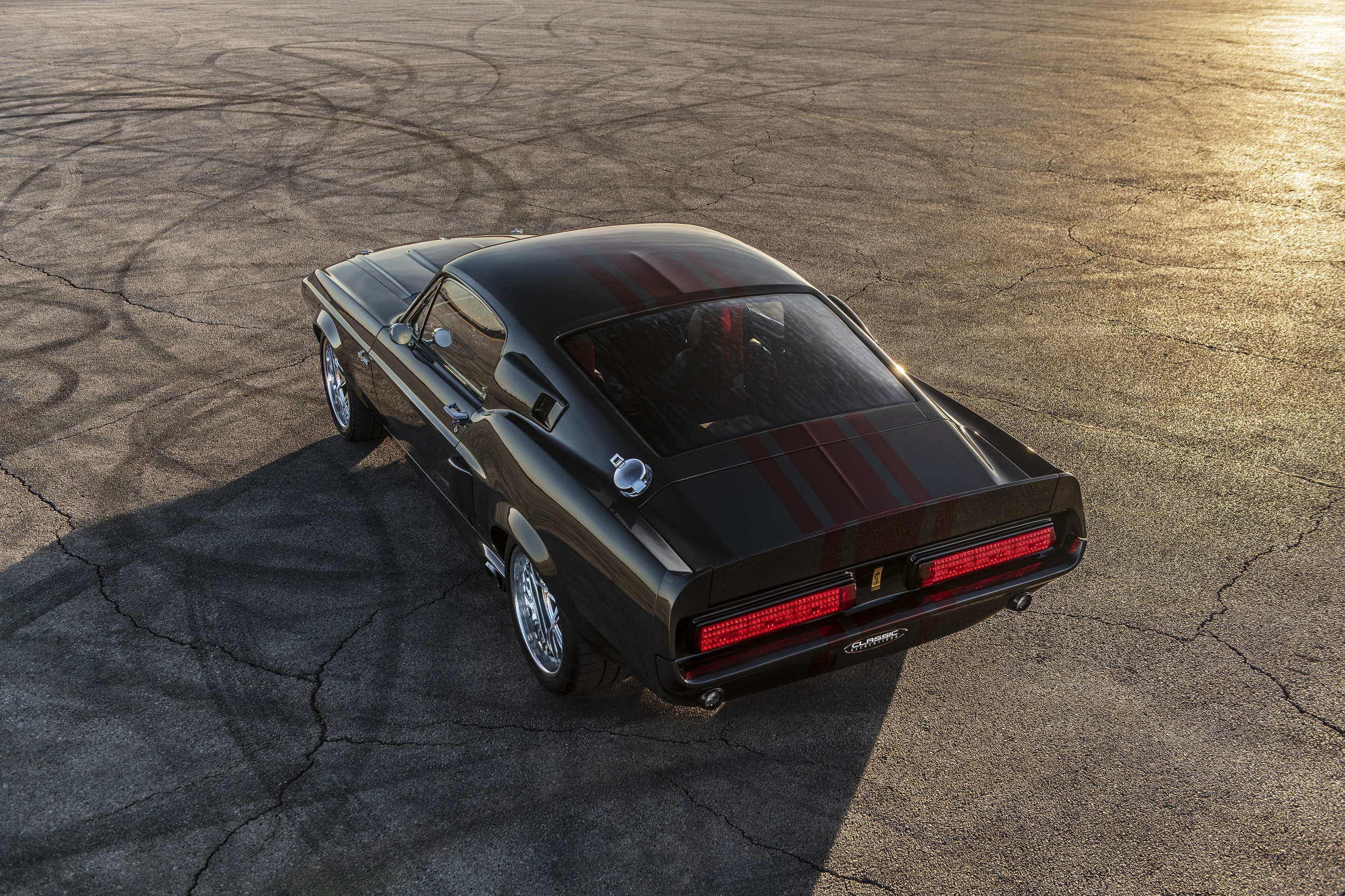 Classic Recreations Shelby GT500CR Carbon SpeedKore - 2021 - top - rear side-face / profil arrière