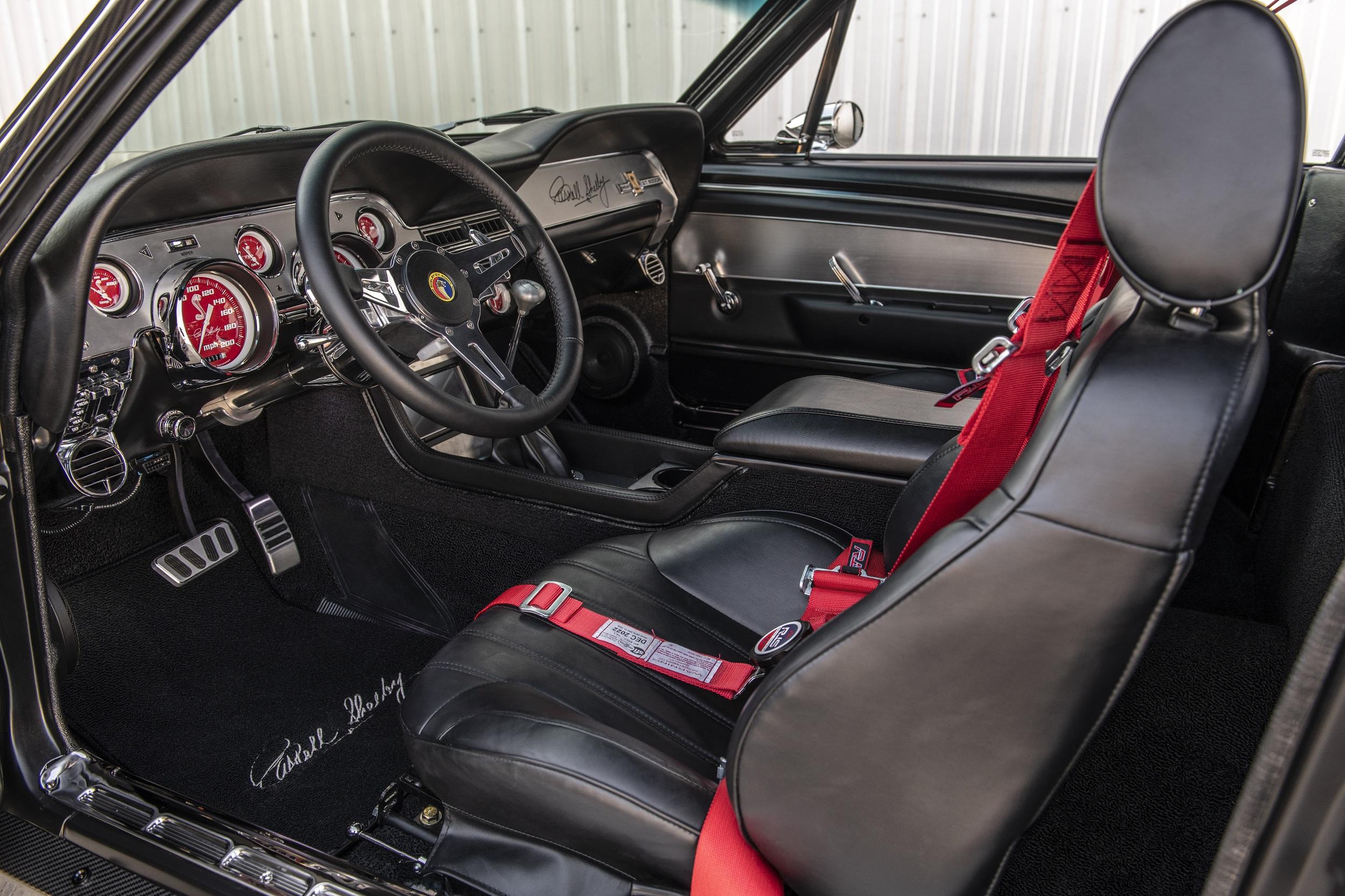 Classic Recreations Shelby GT500CR Carbon SpeedKore - 2021 - interior / intérieur