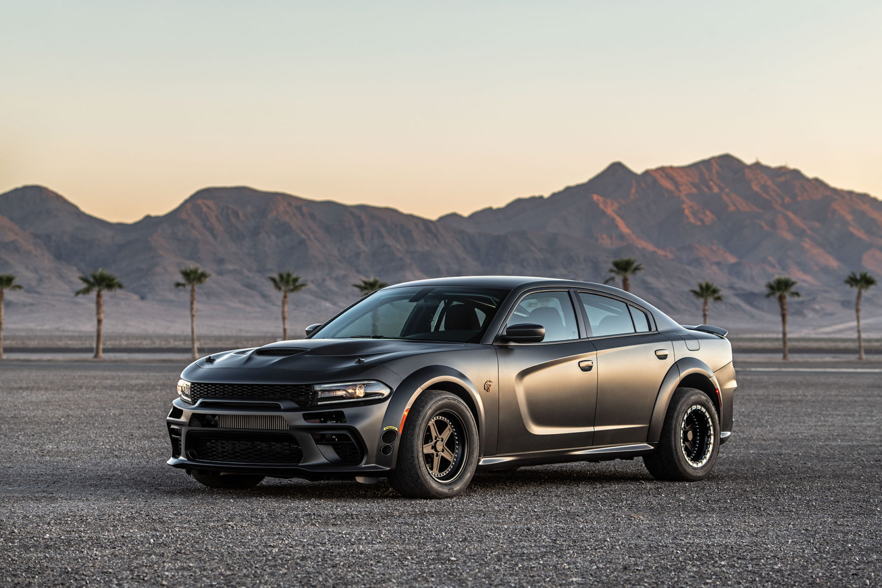 SpeedKore Dodge Charger - 2019 - front side-face / profil avant