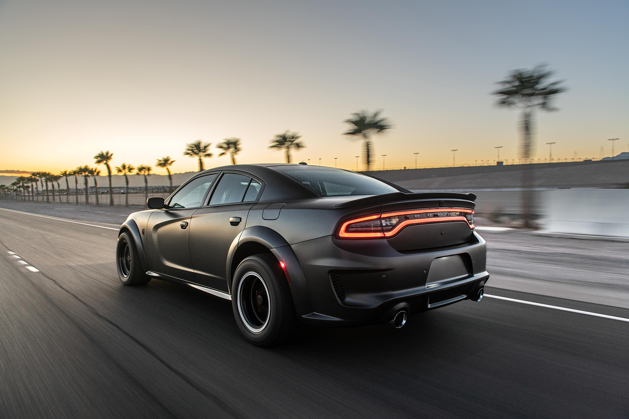 SpeedKore Dodge Charger - 2019 - rear side-face / profil arrière - road