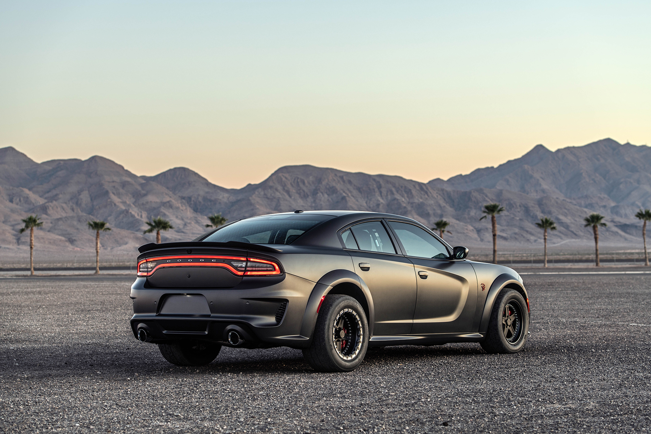 SpeedKore Dodge Charger - 2019 - rear side-face / profil arrière
