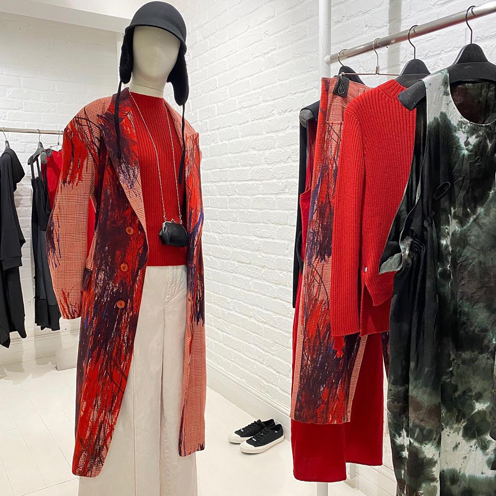 Yohji Yamamoto fashion designer - 2020 - collection LIMIfeu AW20 - London store